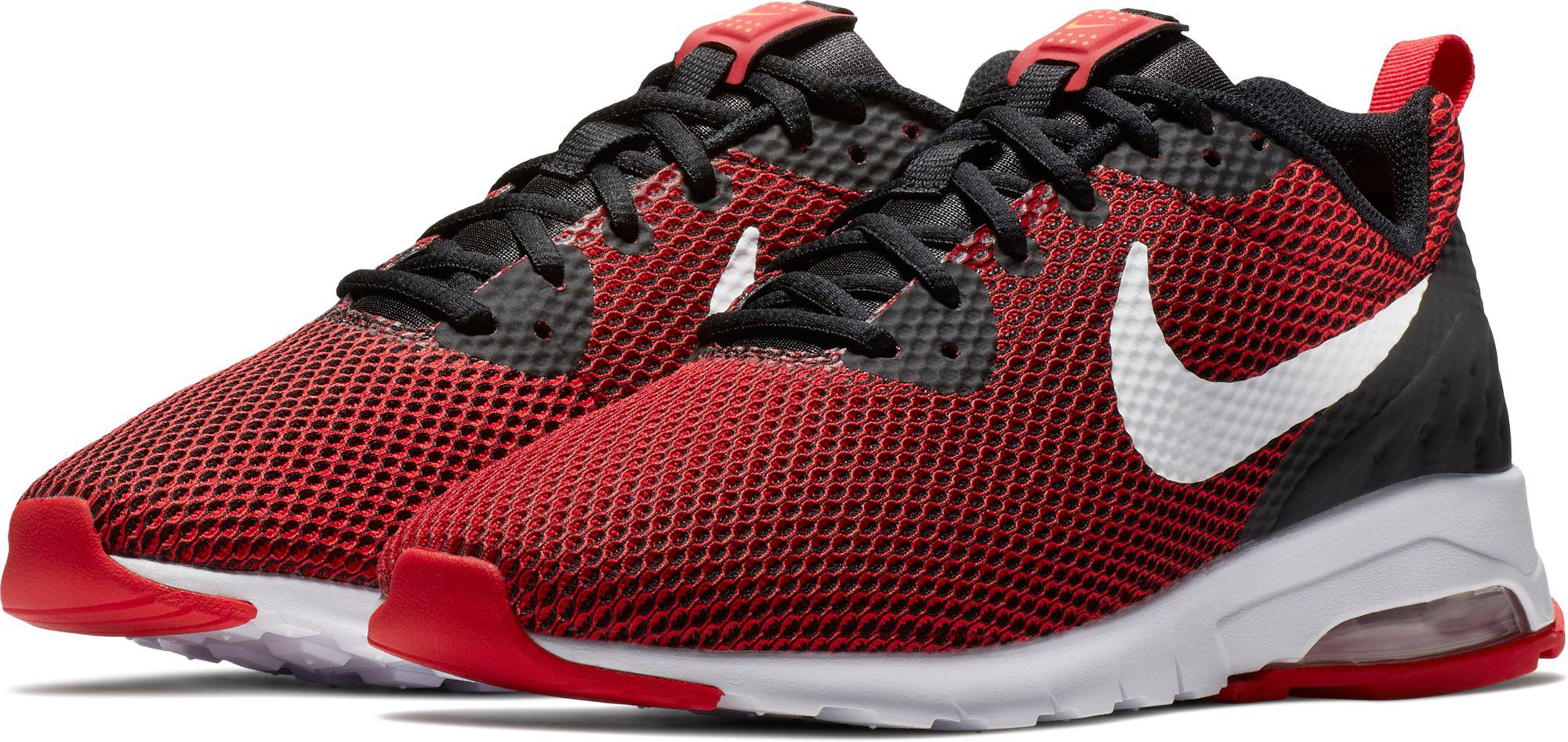 c32a1ae0e2d8 Lyst - Nike Air Max Motion Low Shoes in Red for Men