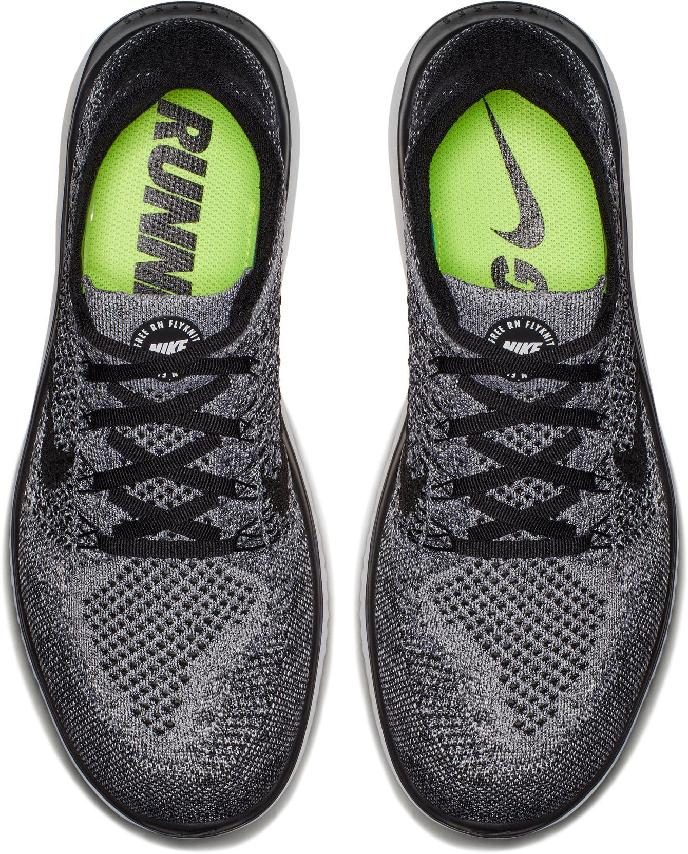 9543fbf36f50 ... discount code for nike black free rn flyknit 2018 running shoes for men  lyst d14b6 4054d