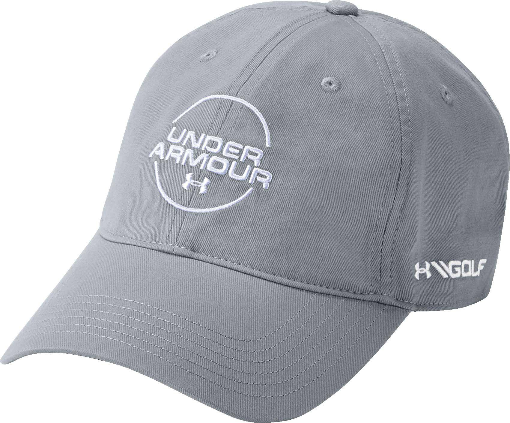 948a10cfae1 Lyst - Under Armour Jordan Spieth Washed Cotton Golf Hat in Gray for Men
