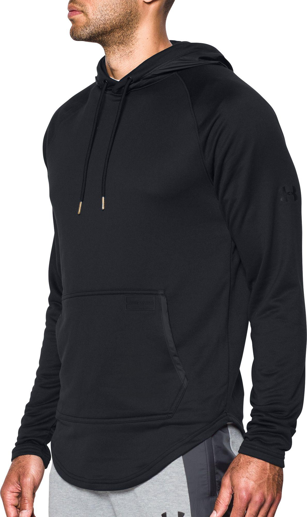 9d5f11a6f Under Armour Pursuit Hoodie in Black for Men - Lyst