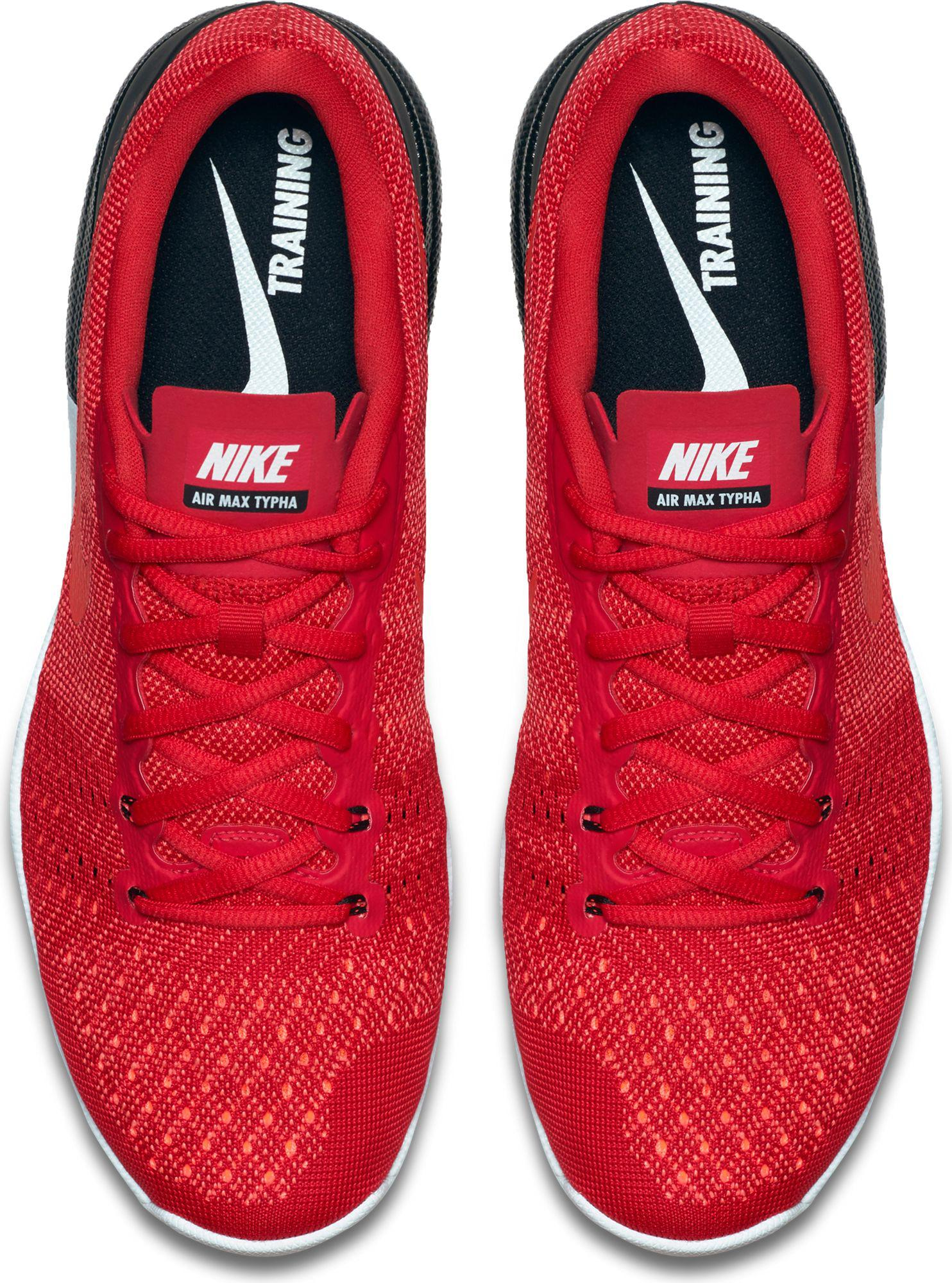nike red air max typha training shoes for men lyst