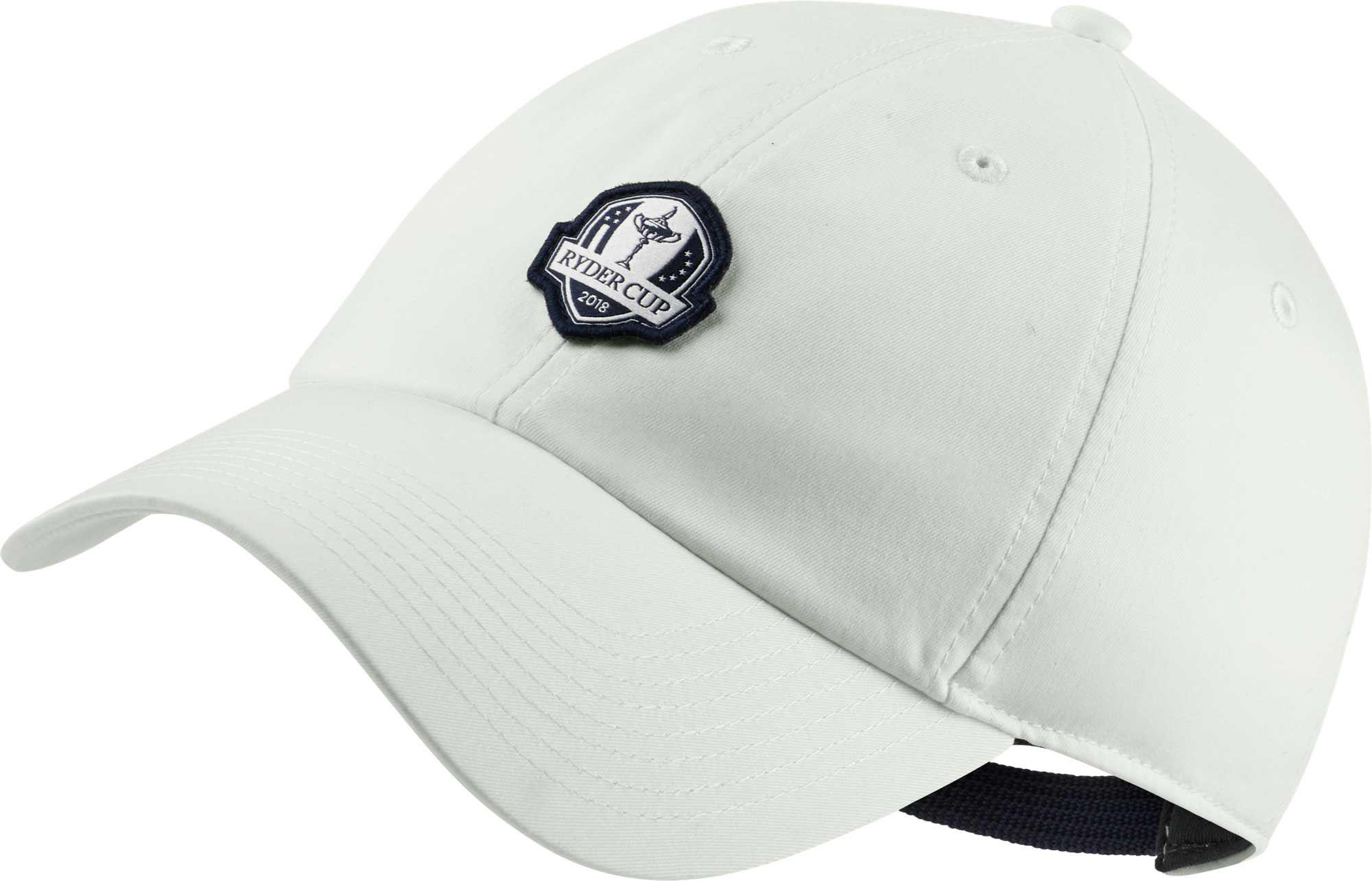 Lyst - Nike Heritage86 Ryder Cup Golf Hat in White for Men fa4916ff9278