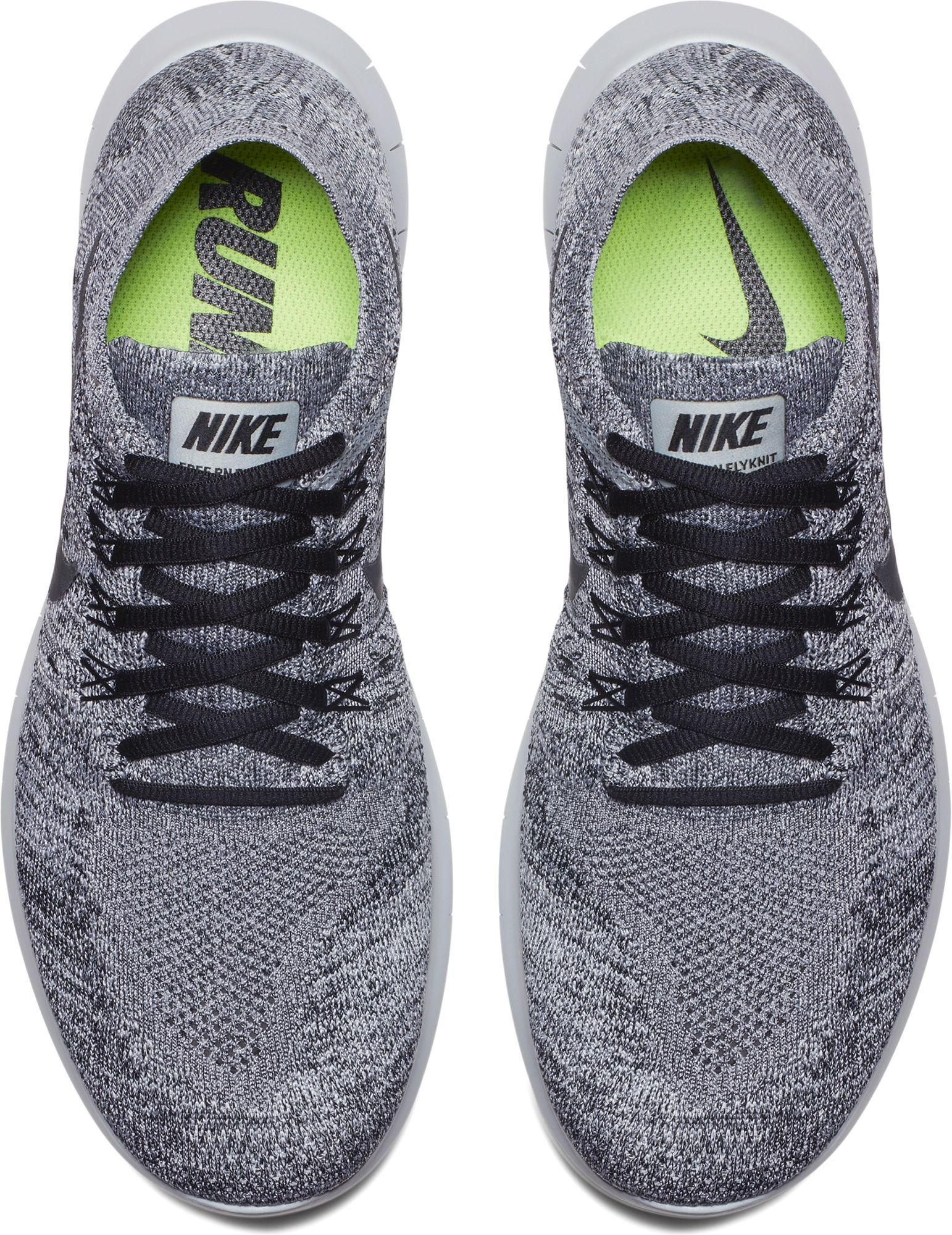 new concept db6a6 fbc6d Nike - Gray Free Rn Flyknit 2017 Running Shoes for Men - Lyst