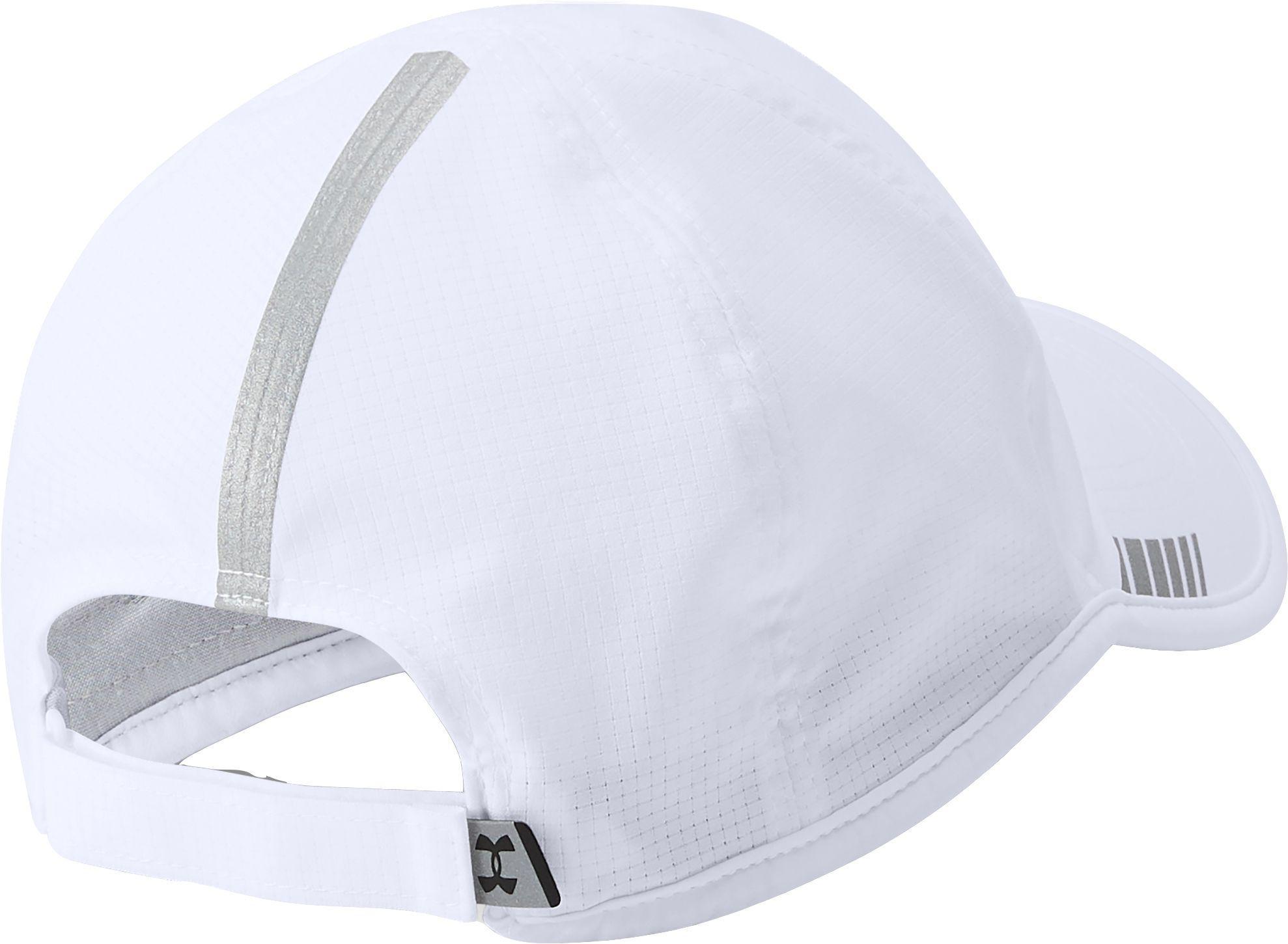 f1983eca7b7 Under Armour - White Launch Armourvent Running Hat for Men - Lyst. View  fullscreen