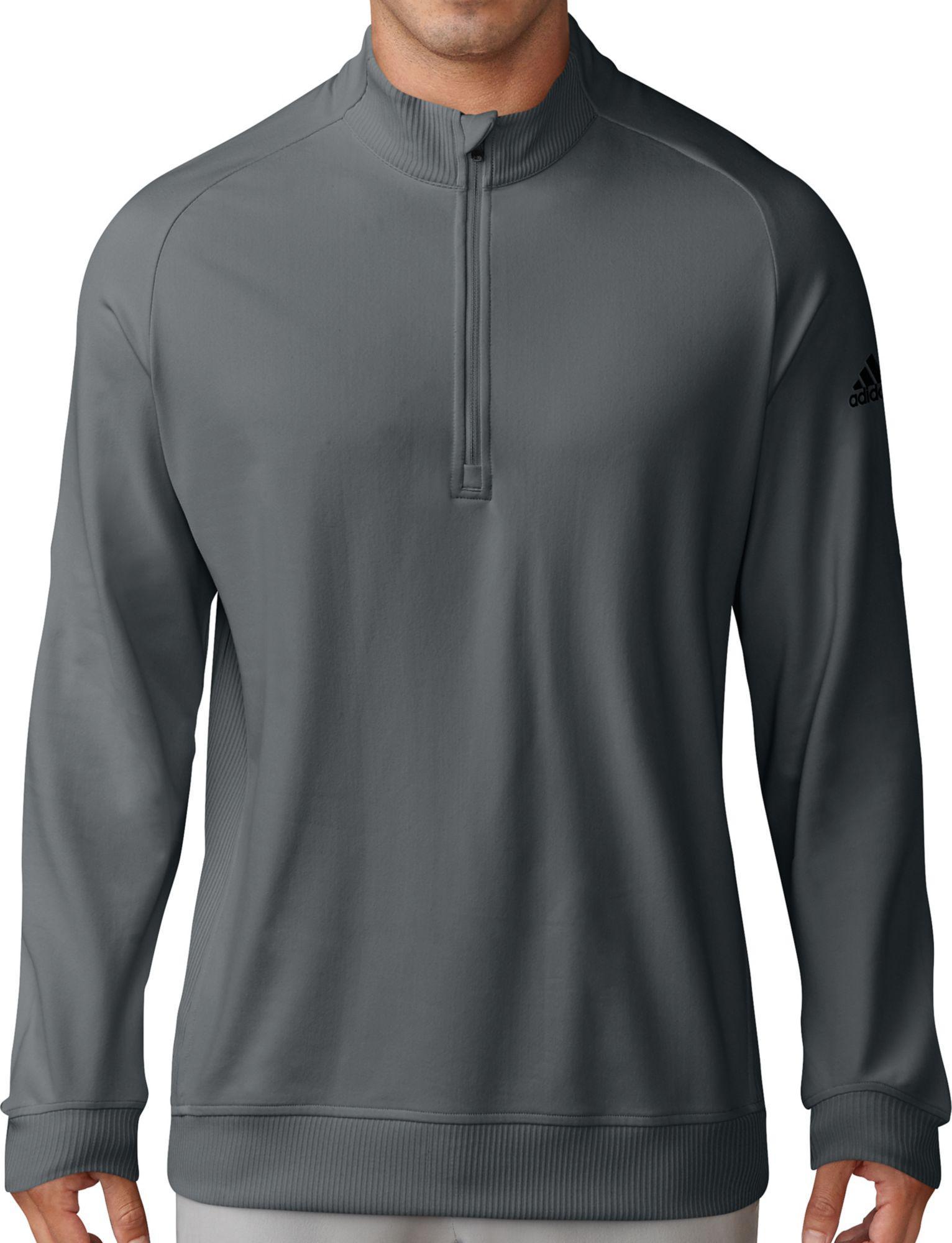 6d6b1d082f31 Lyst - adidas Classic Club Quarter-zip Golf Pullover in Gray for Men