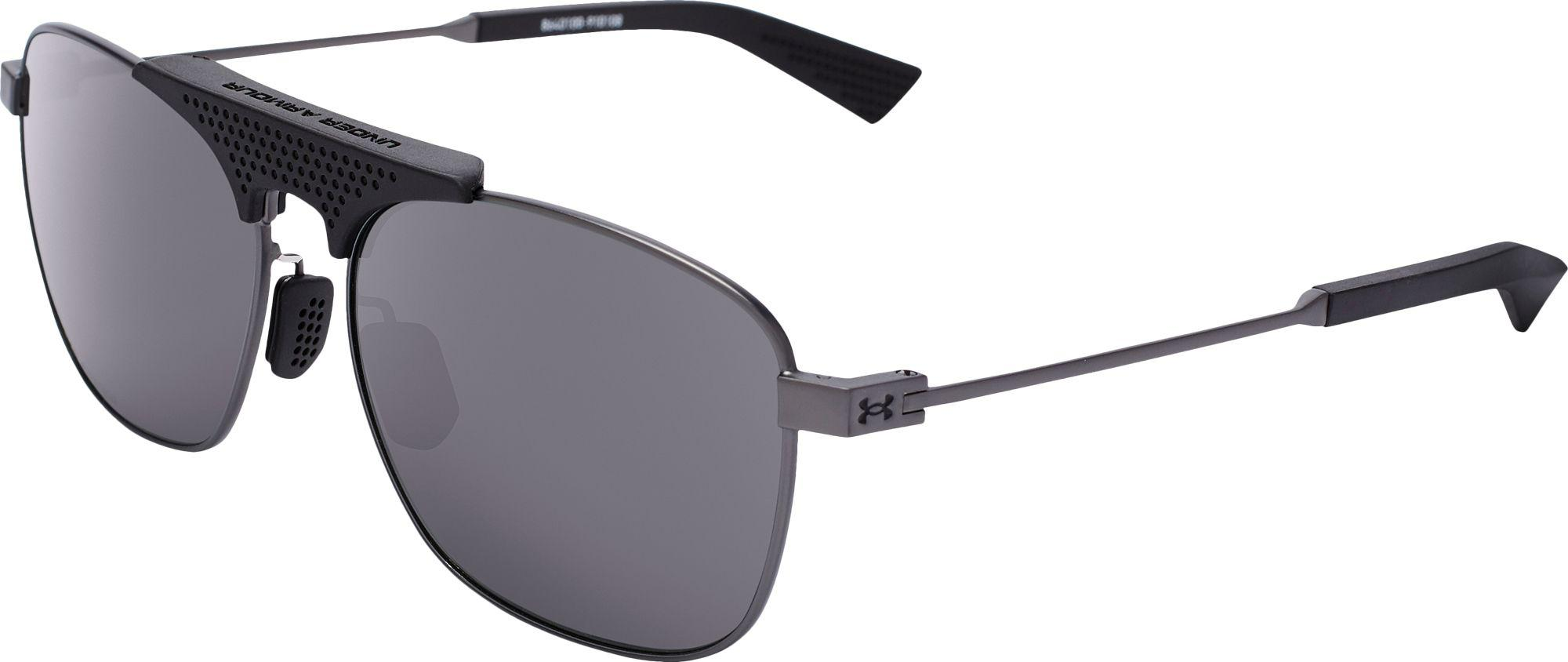 3021bf1b73 Lyst - Under Armour Rally Storm Polarized Sunglasses in Gray for Men