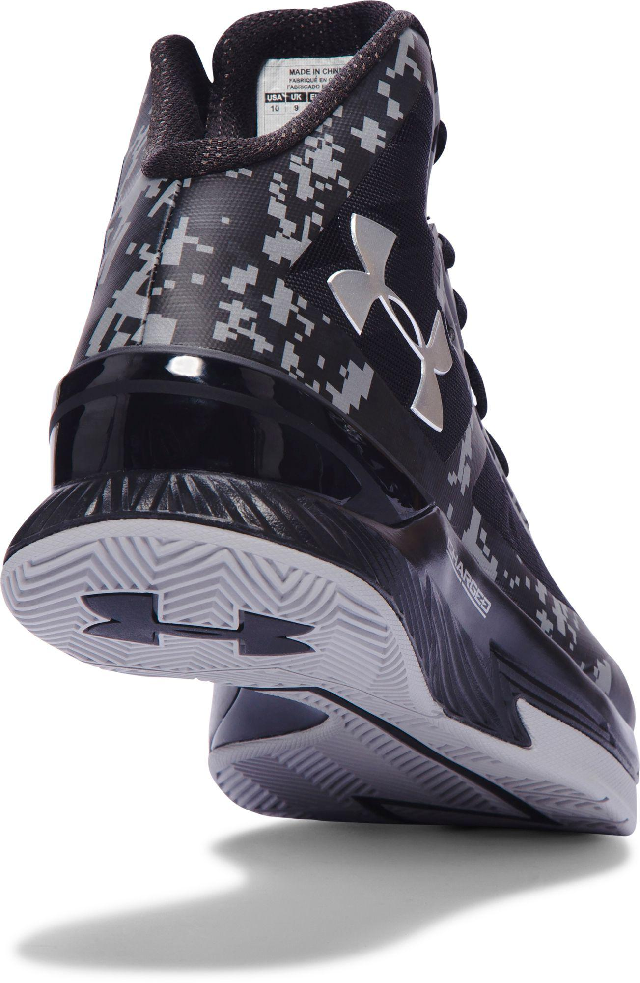 4f4aff62849c Under Armour - Black Clutchfit Lightning Basketball Shoes for Men - Lyst