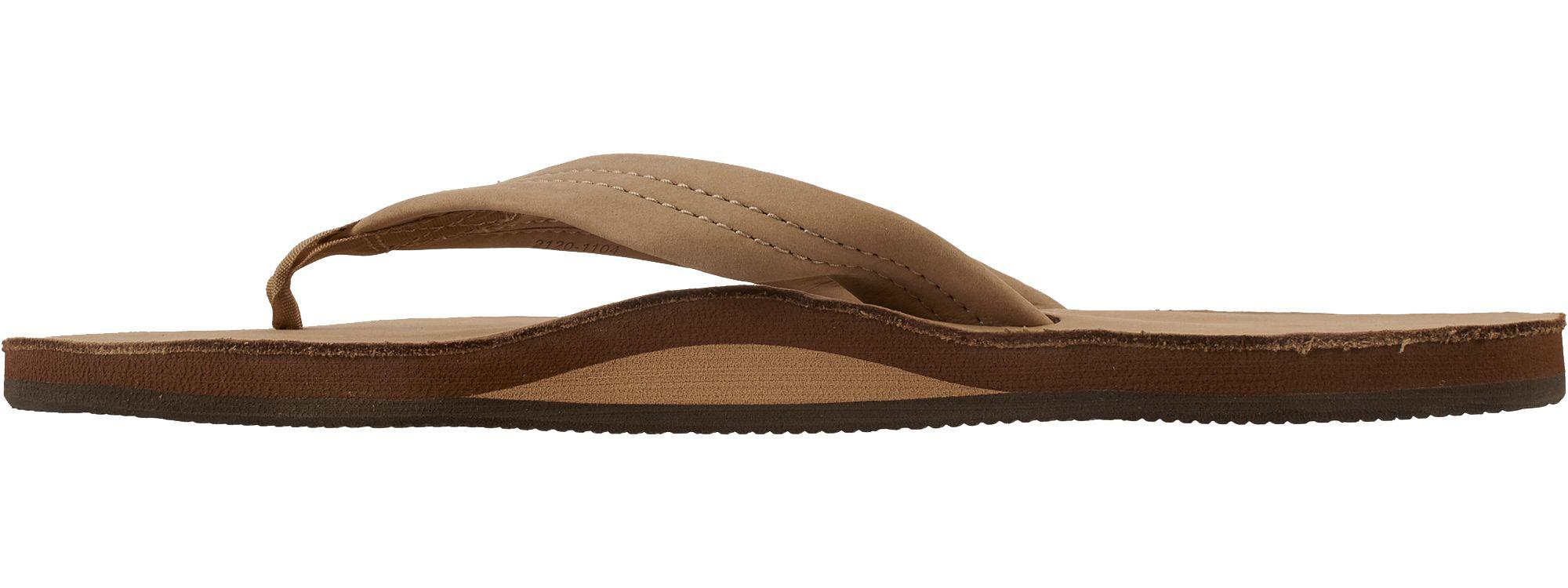 b2c5bee16a10 Lyst - Rainbow Sandals Leather 301 Flip Flops in Brown for Men