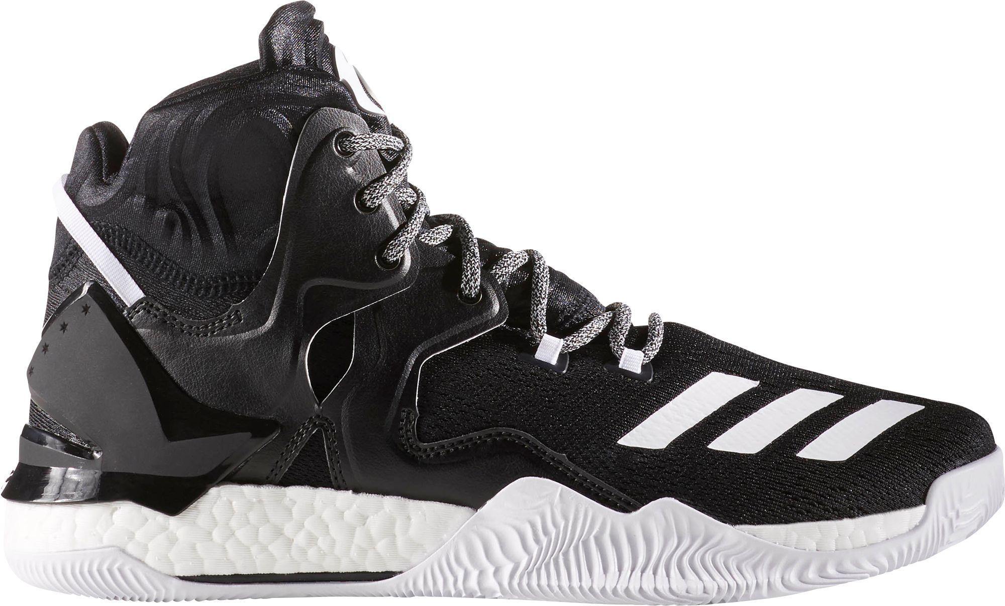 04cc091b6195a Lyst - adidas Originals D Rose 7 Boost Basketball Shoes in Black for Men