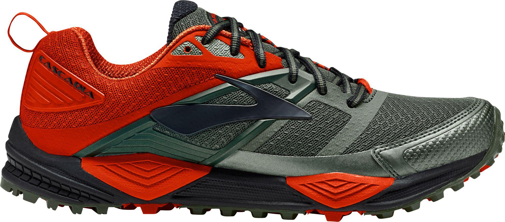 840dd9f1d7963 Lyst - Brooks Cascadia 12 Trail Running Shoes in Green for Men