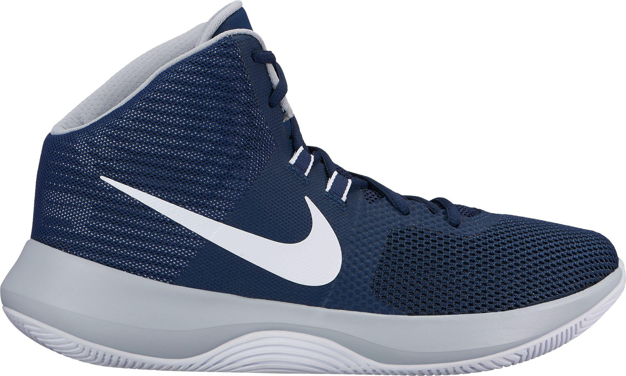 wholesale dealer 6e0db e89bd ... new arrivals nike blue air precision basketball shoes for men lyst  af75a 95106