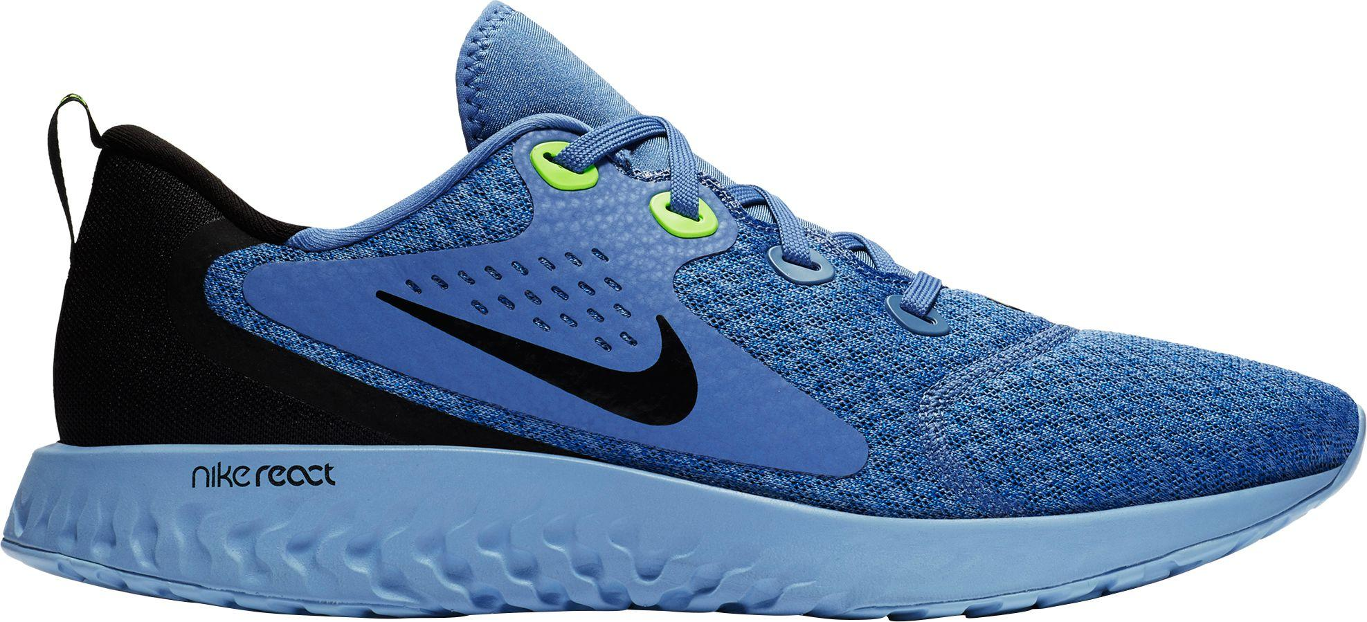 374297725dc Lyst - Nike Legend React Running Shoes in Blue for Men