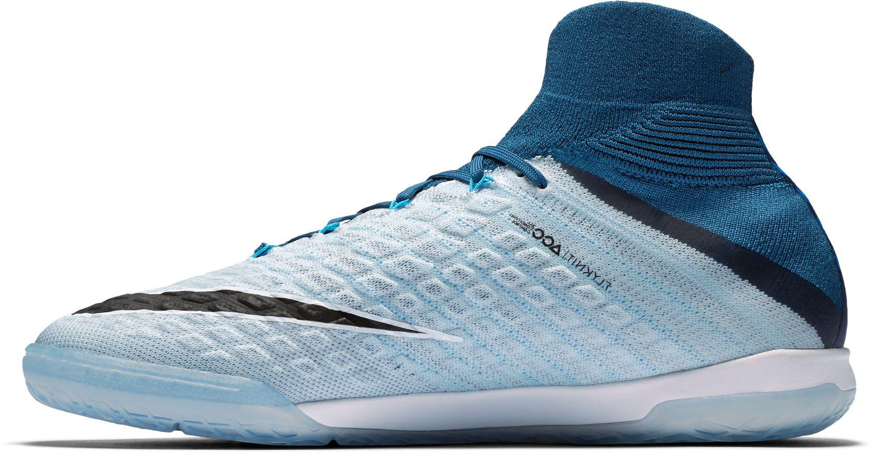 40176b80a Nike Hypervenomx Proximo Ii Dynamic Fit Indoor Soccer Shoes in Blue ...