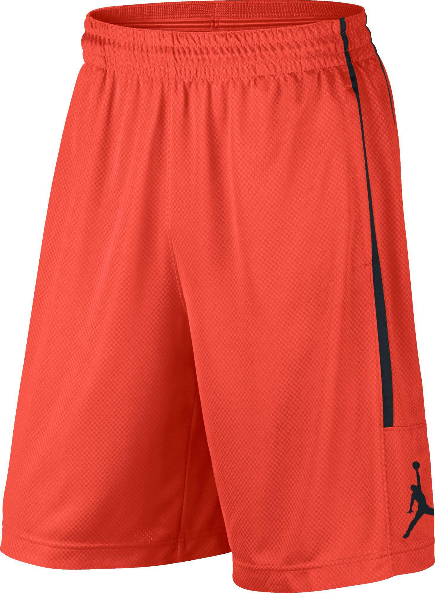 fa9daef84feb Lyst - Nike Jordan Double Crossover Basketball Shorts in Orange for Men