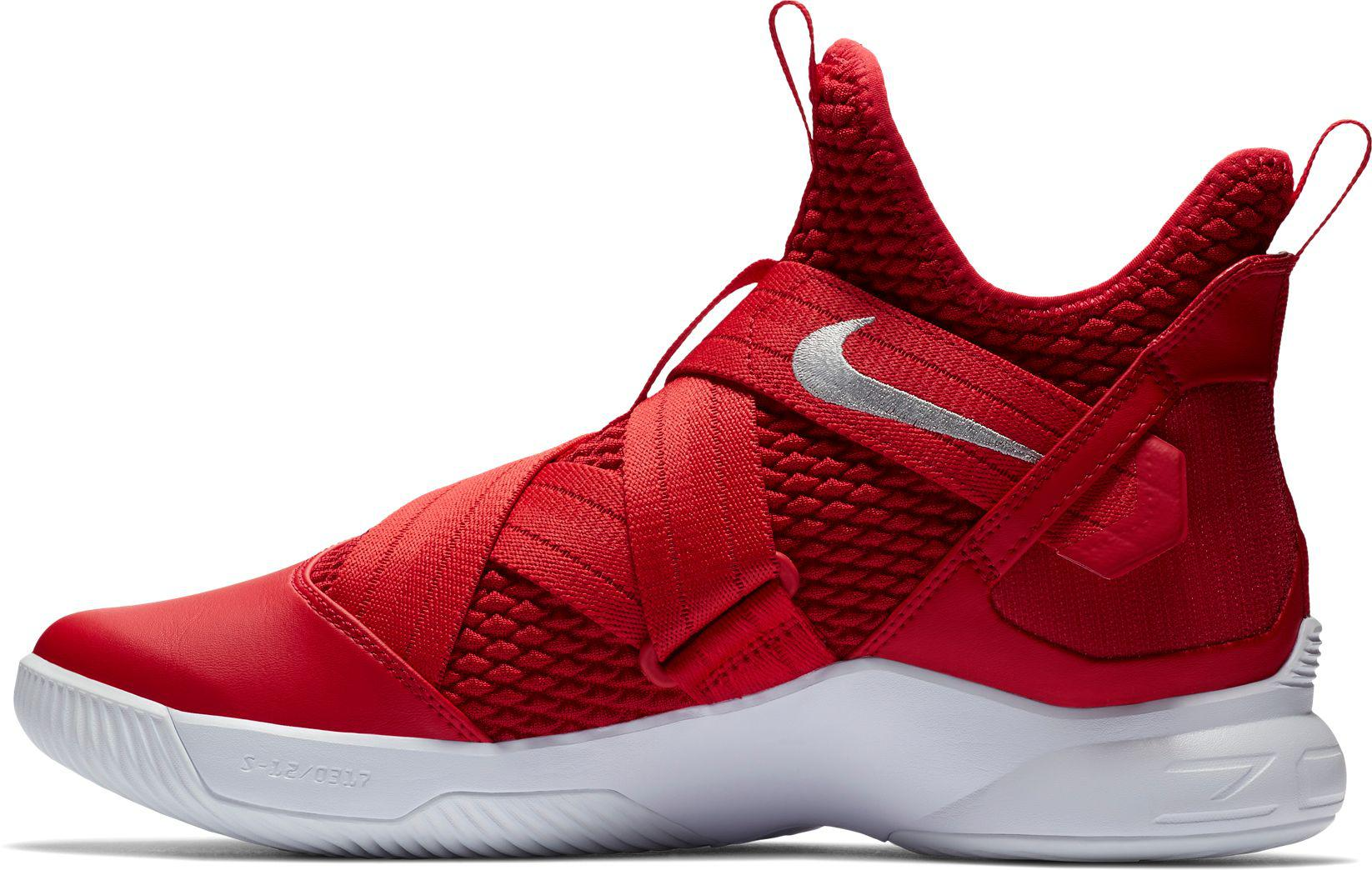 d7f4fb7ef18 Lyst - Nike Zoom Lebron Soldier Xii Tb Basketball Shoes in Red for Men