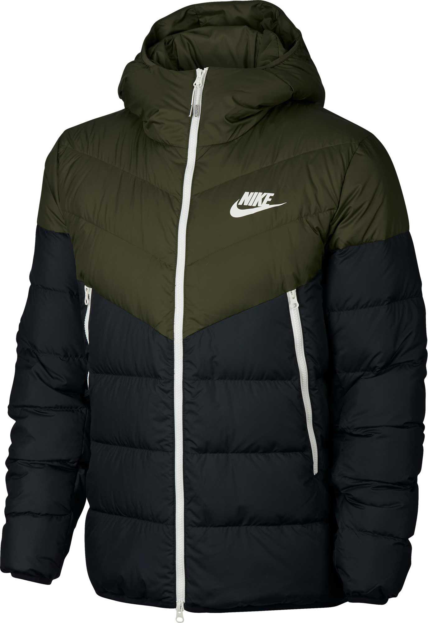 ae07dc38bd Lyst - Nike Sportswear Windrunner Down Jacket in Black for Men
