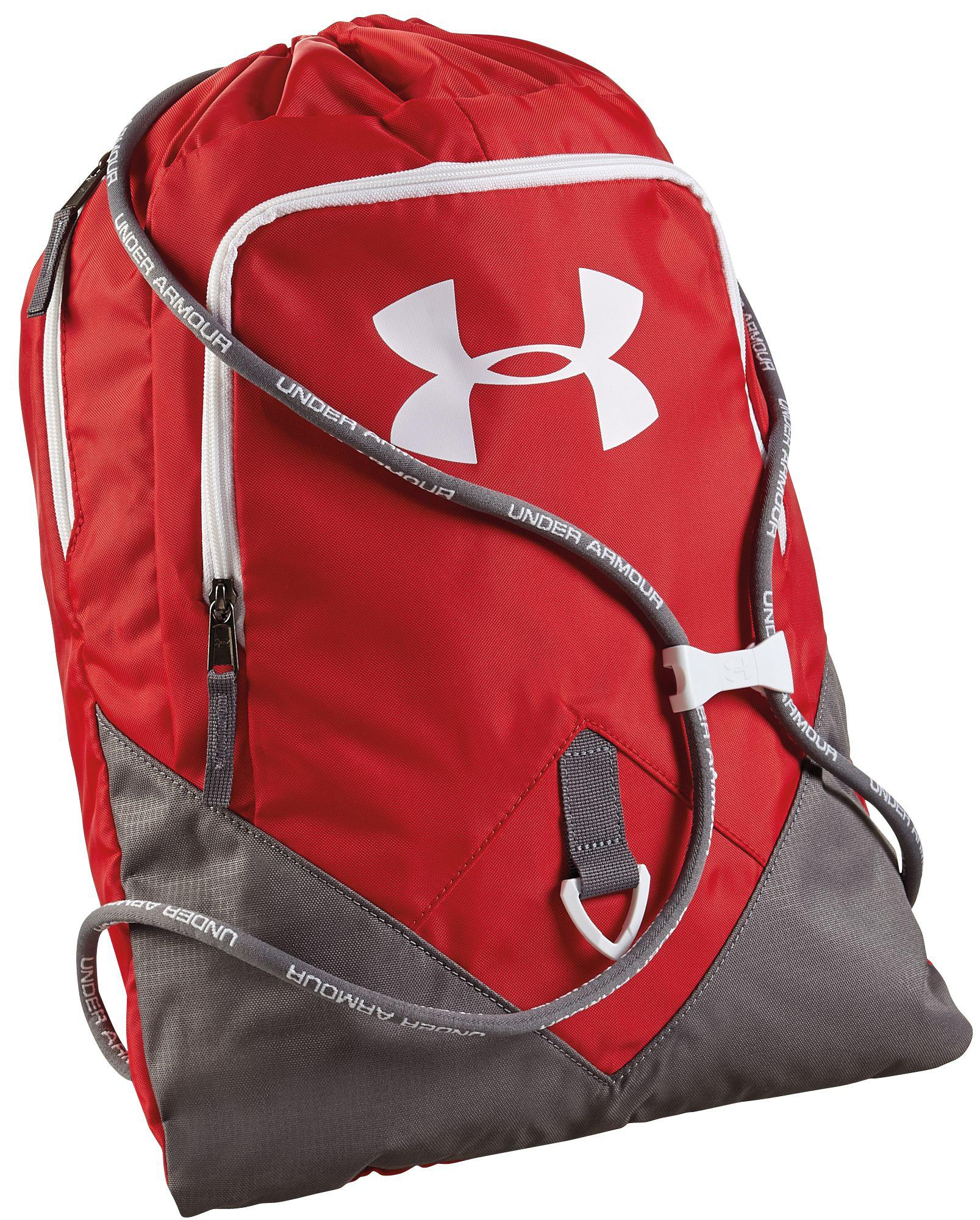 new products 0dc5d 7cfc0 Under Armour - Red Undeniable Sackpack for Men - Lyst