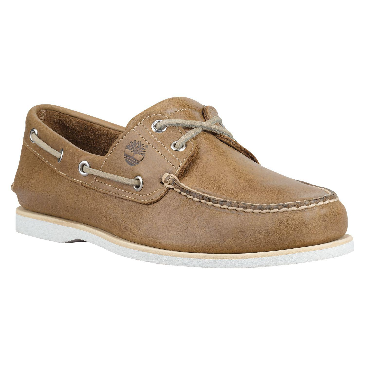 5652b6783eb Lyst - Timberland Icon 2-eye Boat Shoes in Brown for Men