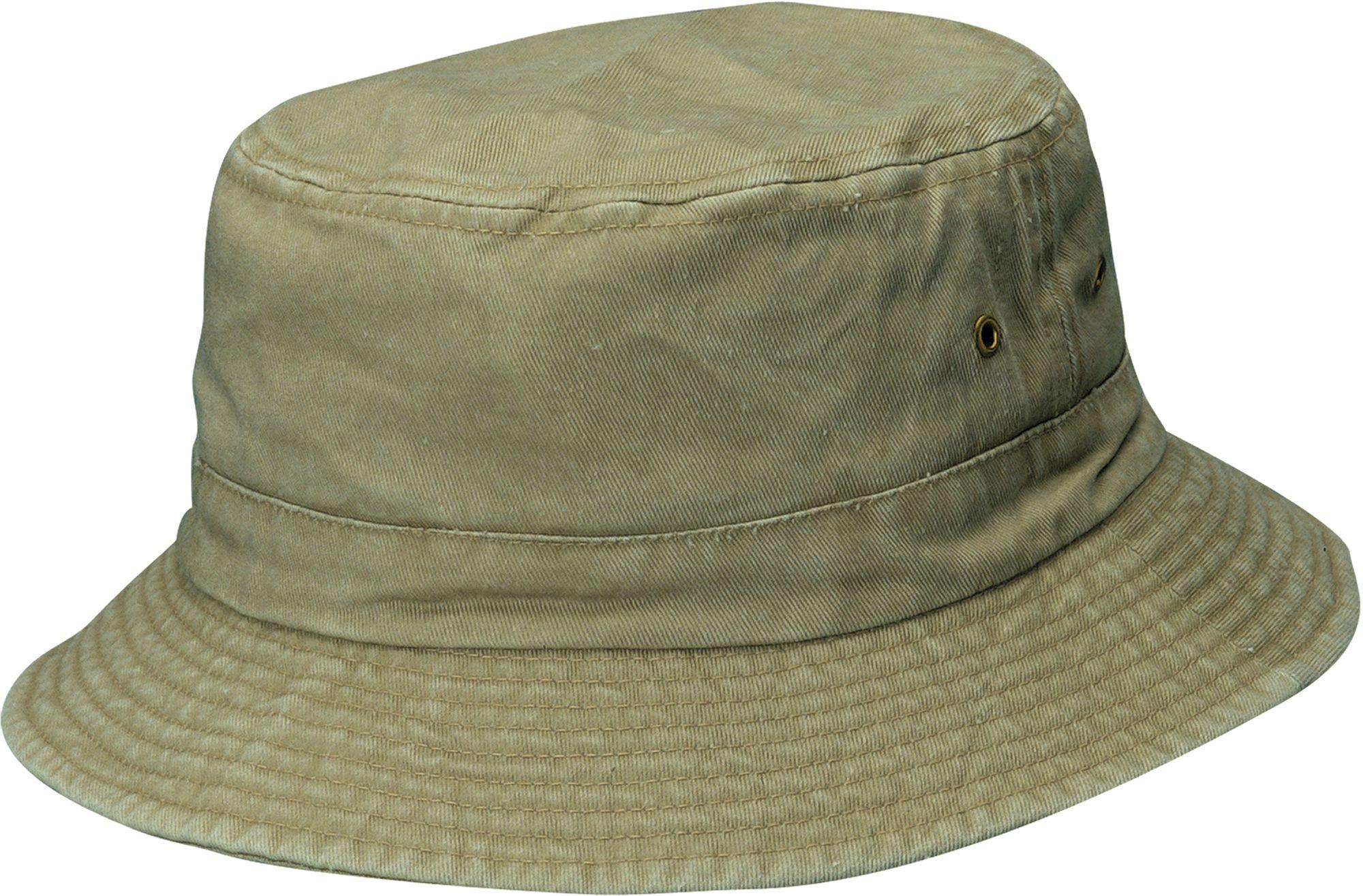9e8a609ab2a Lyst - Dorfman Pacific Pigment Dyed Twill Bucket Hat in Green for Men