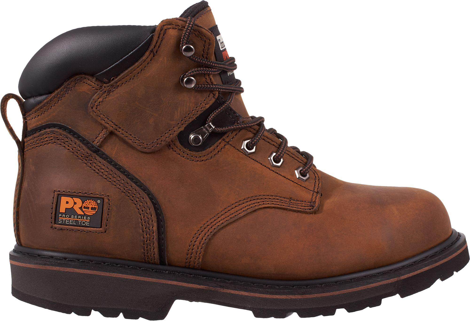 4a0d07232c73 Lyst - Timberland Pro Pit Boss 6   Steel Toe Work Boots in Brown for Men
