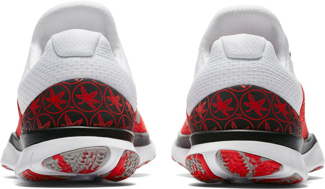 low priced a6e39 0e975 Nike - Red Free Trainer V7 Week Zero Ohio State Edition Training Shoes for  Men -