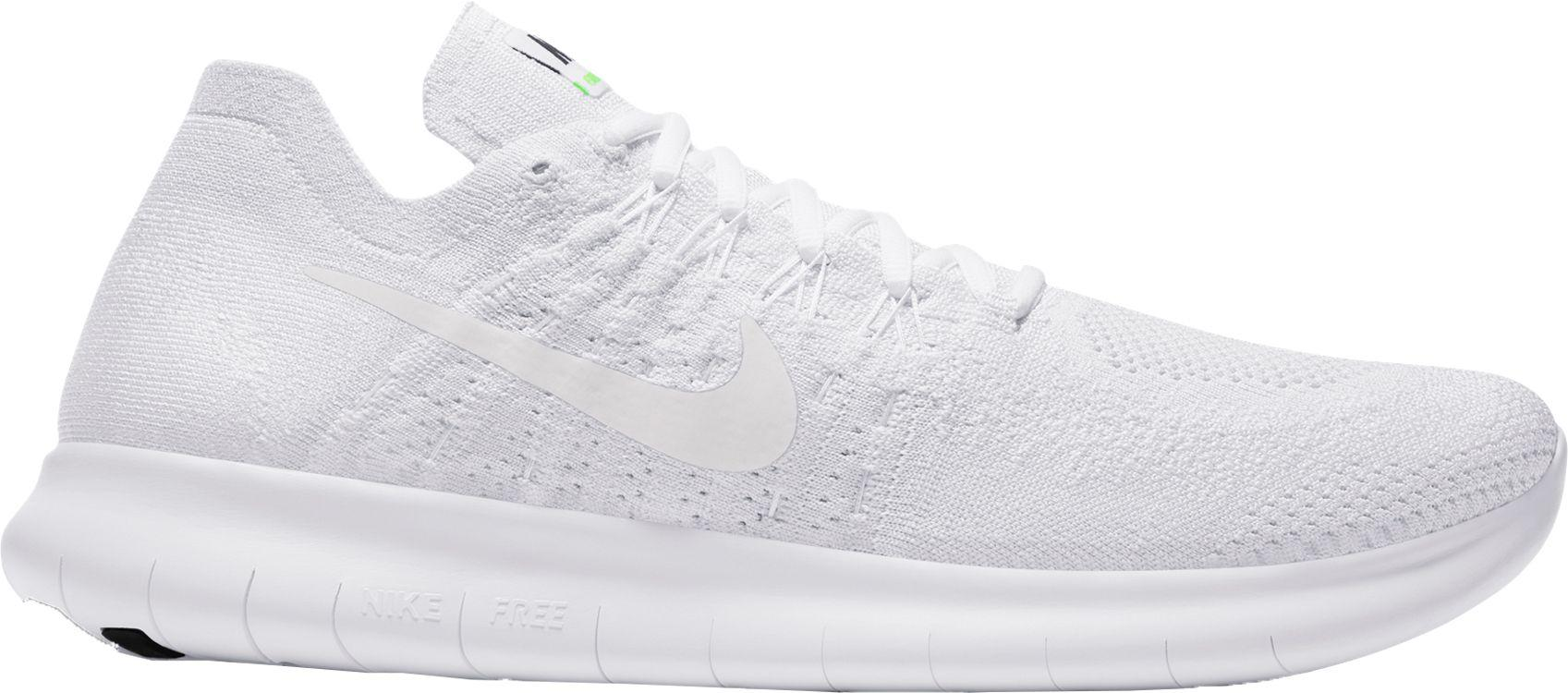 3e2a921fc98fa Lyst - Nike Free Rn Flyknit 2017 Running Shoes in White for Men