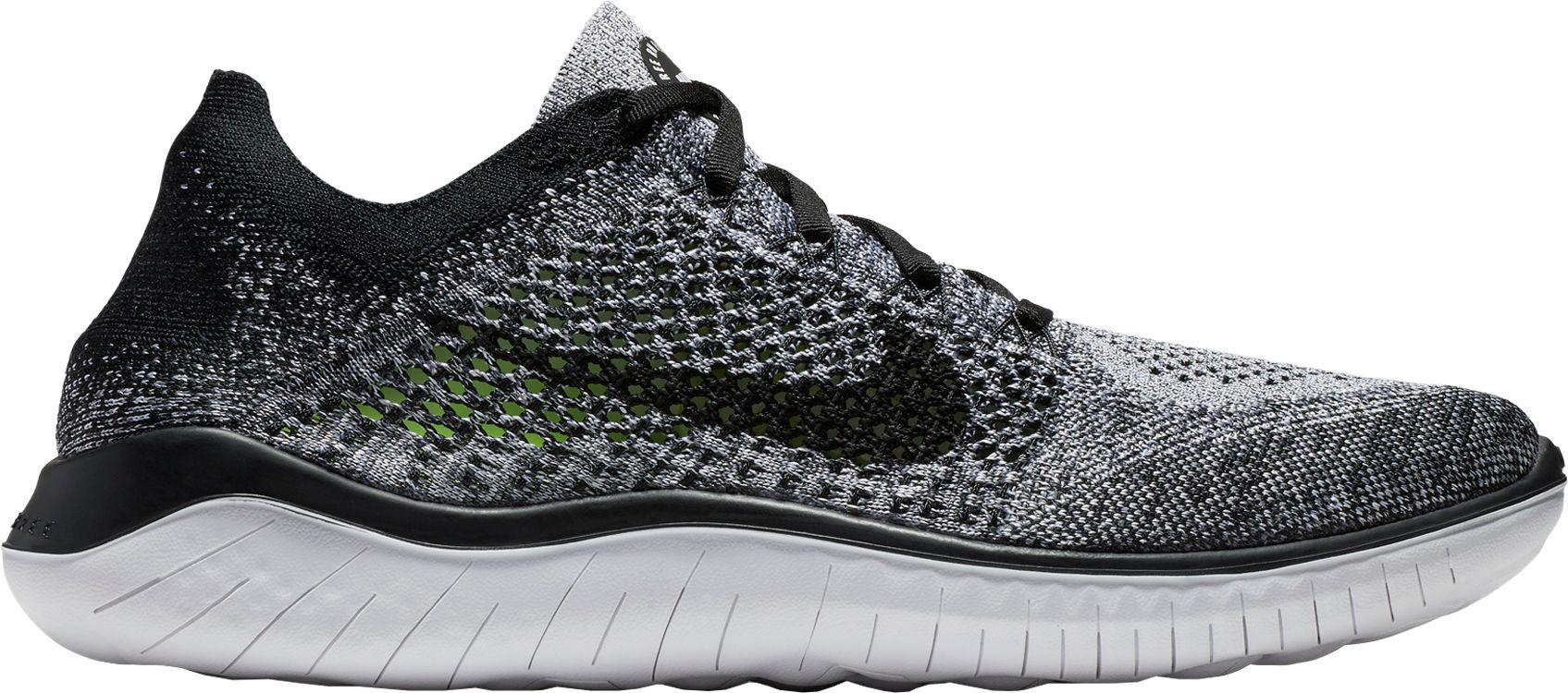 3338c666509bf Lyst - Nike Free Rn Flyknit 2018 Running Shoes in Black for Men