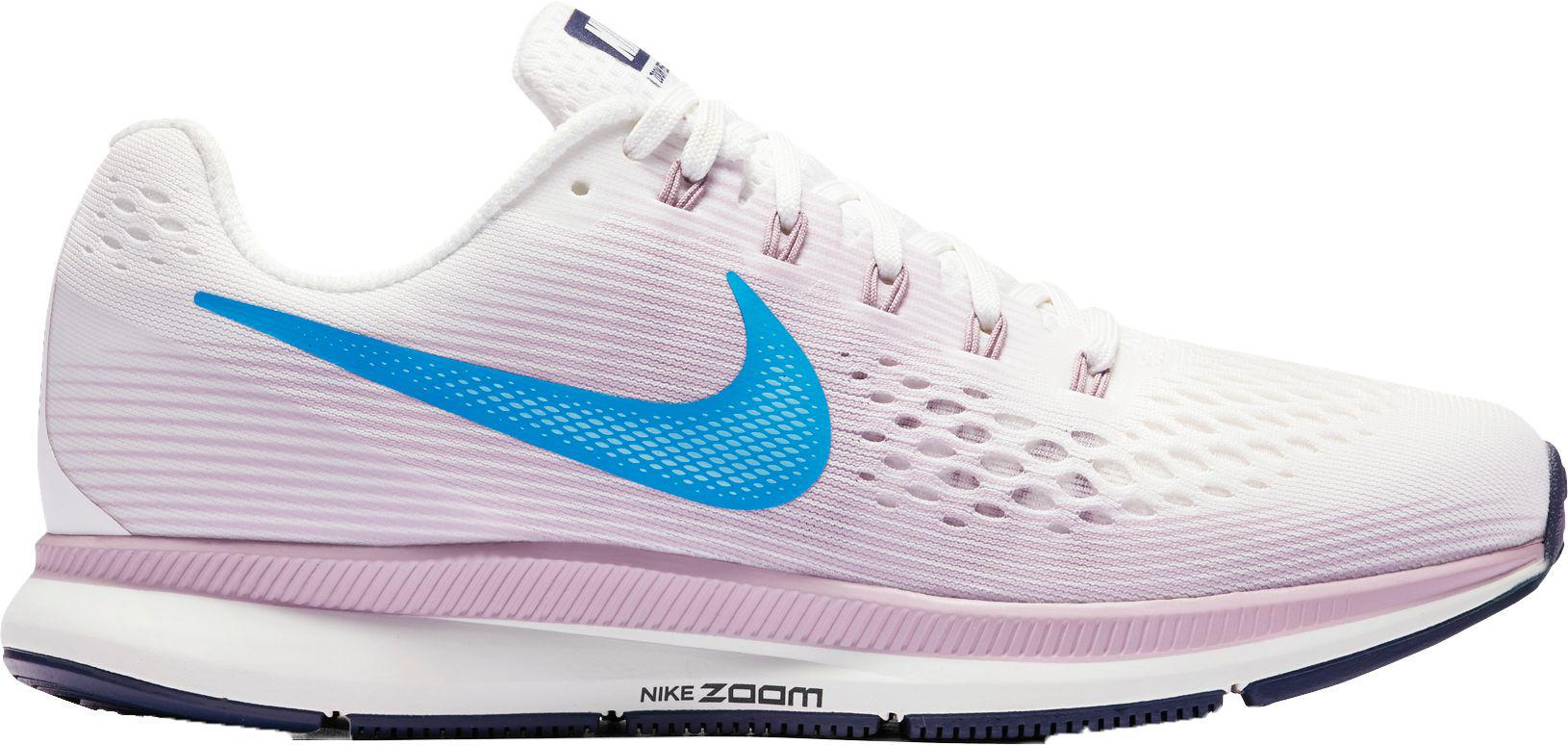 buy popular 8a1ee e69c7 Nike - White Air Zoom Pegasus 34 Running Shoes - Lyst