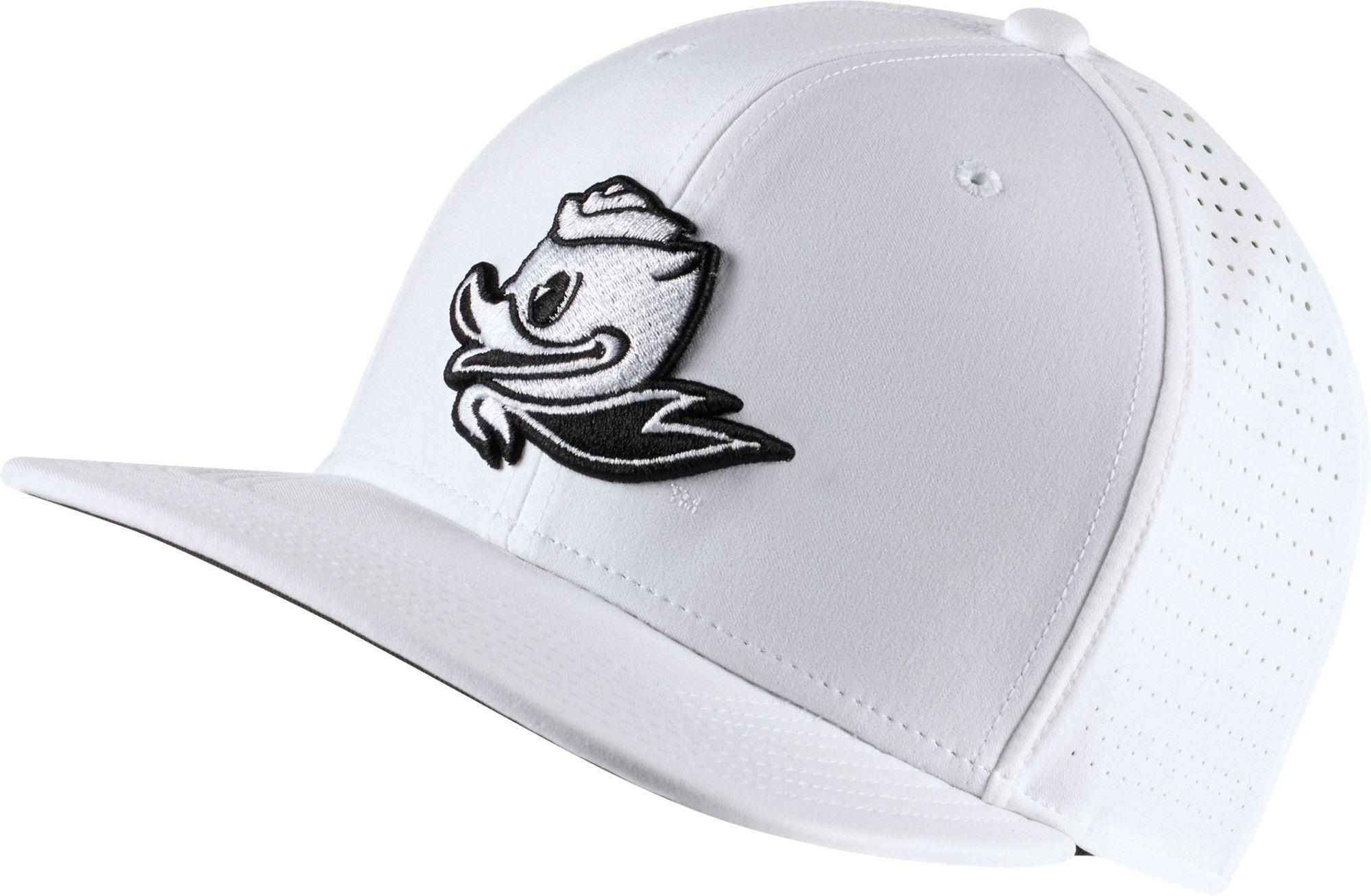 9ca74154e00 Lyst nike oregon ducks pro perforated golf hat in white for men