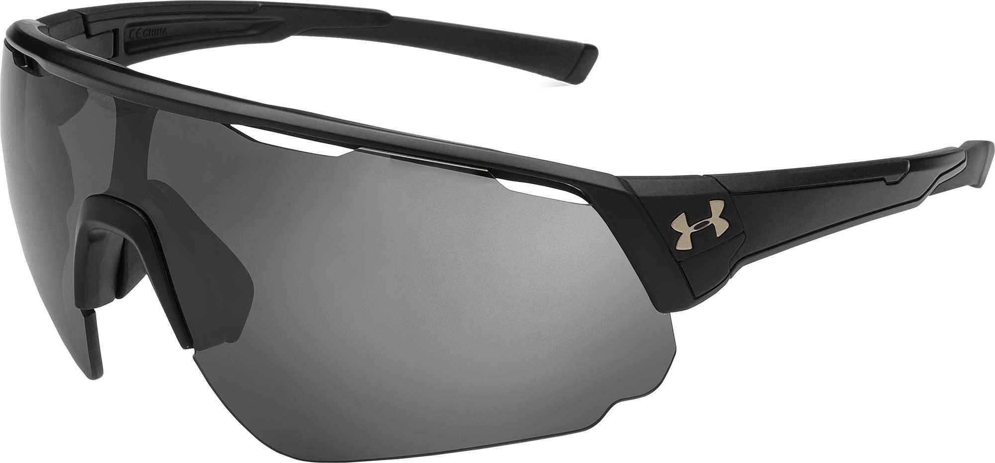 70d3af5279b Lyst - Under Armour Changeup Running Polarized Sunglasses in Black ...