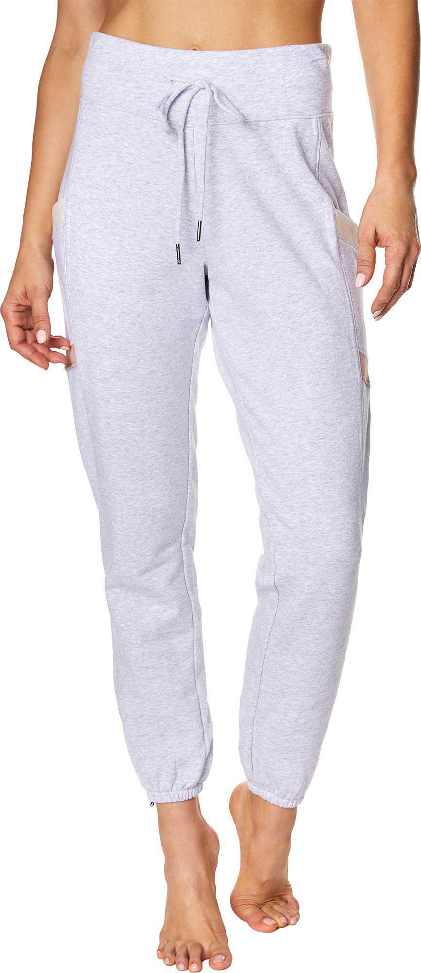 90985d45a6e Betsey Johnson - Gray Chevron Colorblock Sweatpants - Lyst. View fullscreen