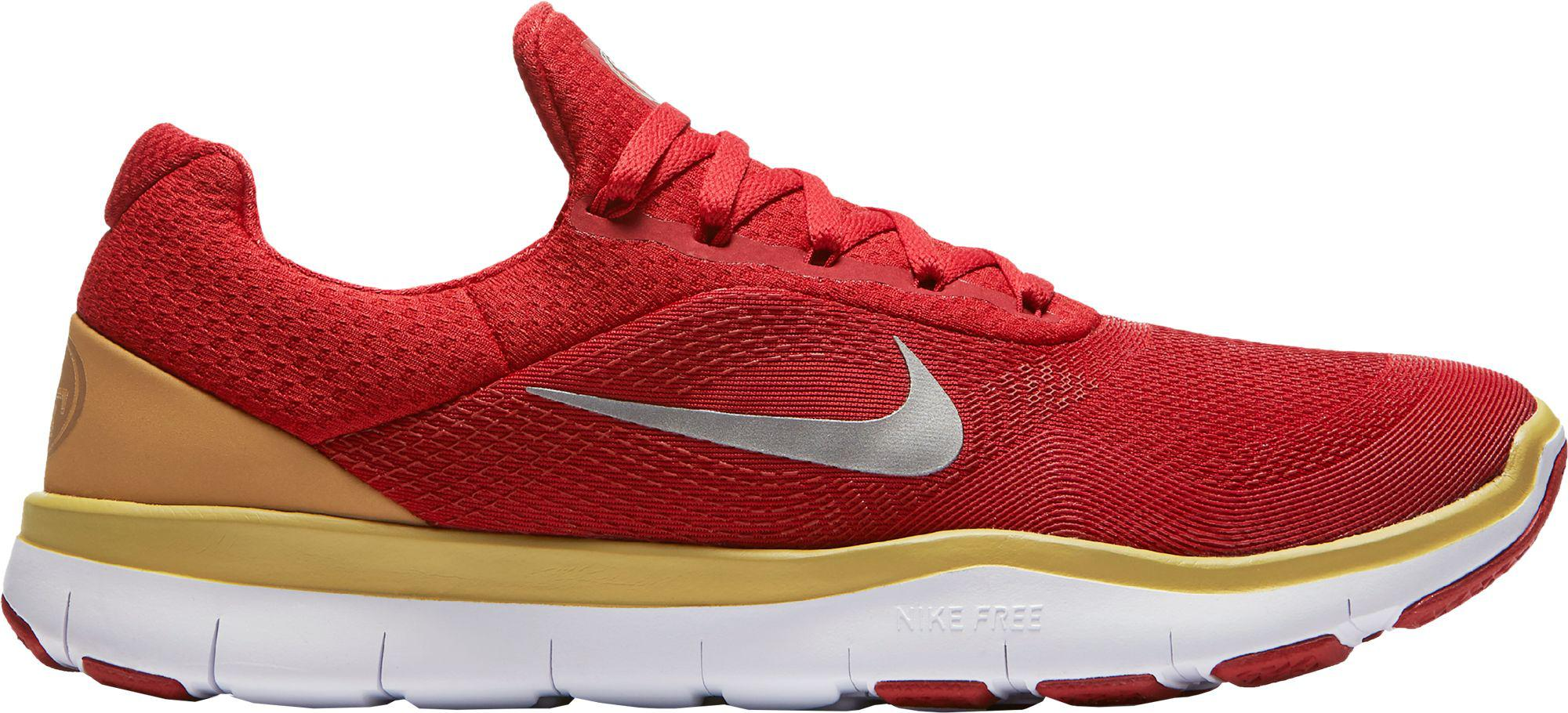 6671d949b6d Lyst - Nike Free Trainer V7 Nfl 49ers Training Shoes in Red for Men