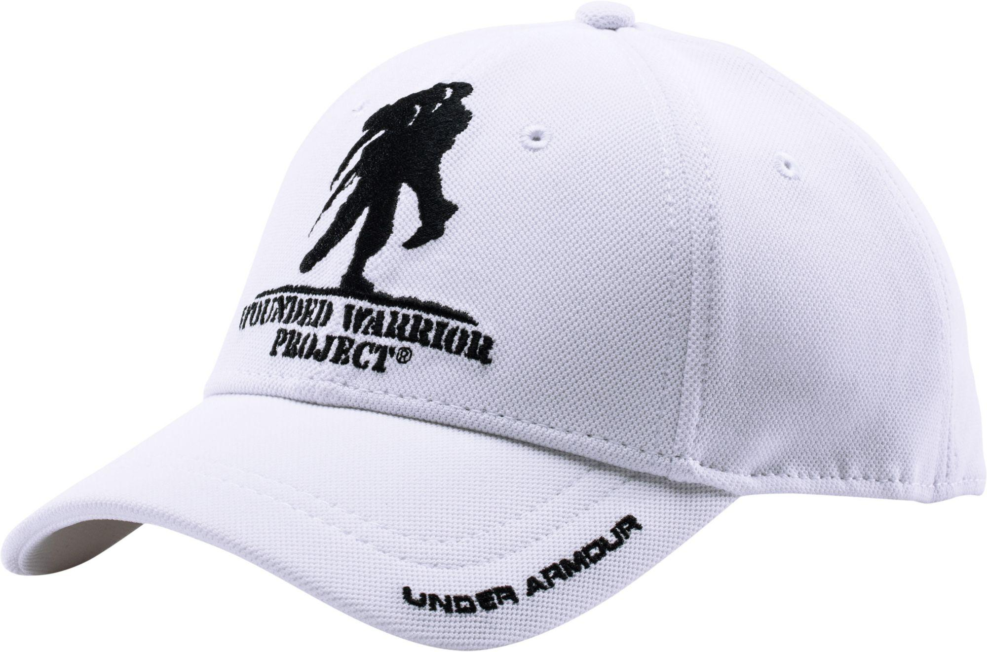 Lyst - Under Armour Wounded Warrior Project Snapback Hat in White ... 695a91a35a1