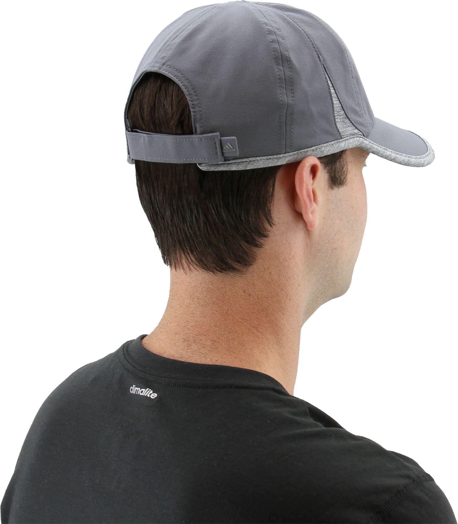 08ea6654fa3 Adidas - Gray Superlite Hat for Men - Lyst. View fullscreen
