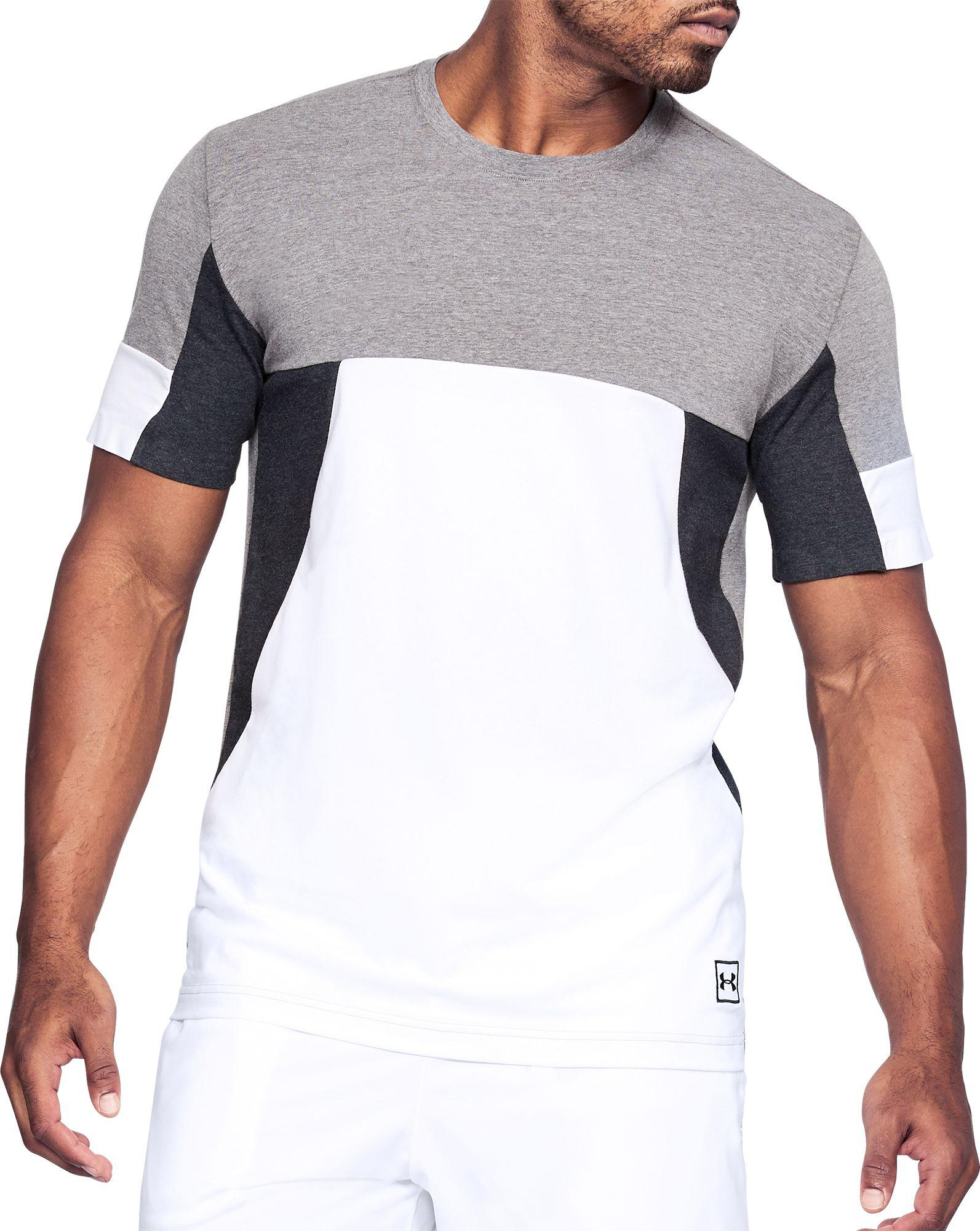 Under Armour SPORTSTYLE BRANDED - T-shirt imprimé - black/white