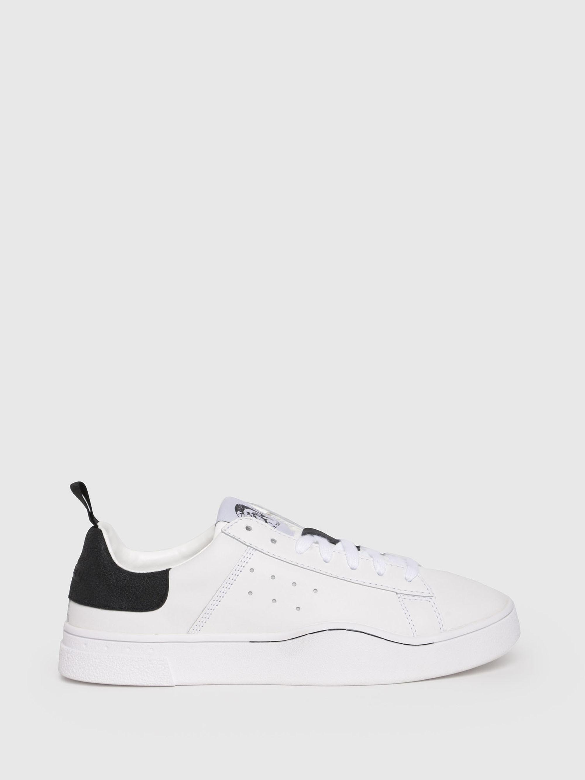 Diesel S-CLEVER LOW White Trainers With Sole Detail clearance clearance footlocker finishline sale online clearance hot sale best store to get cheap price clearance for nice lW75Q