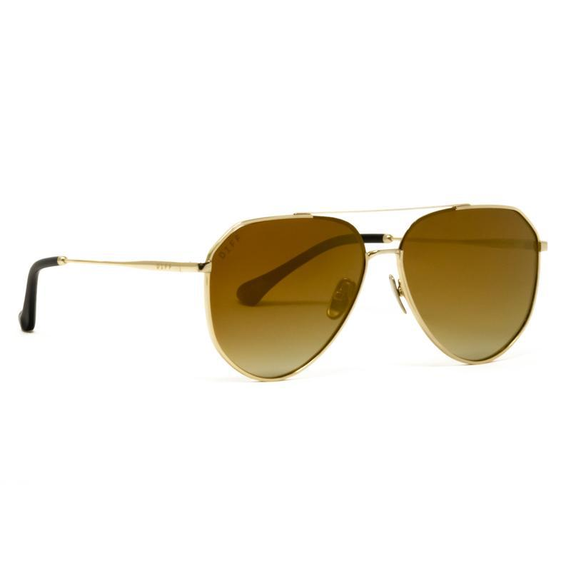 a5961a4850fc1 DIFF - Metallic Jessie James Decker - Dash + Gold Mirror Gradient - Lyst.  View fullscreen