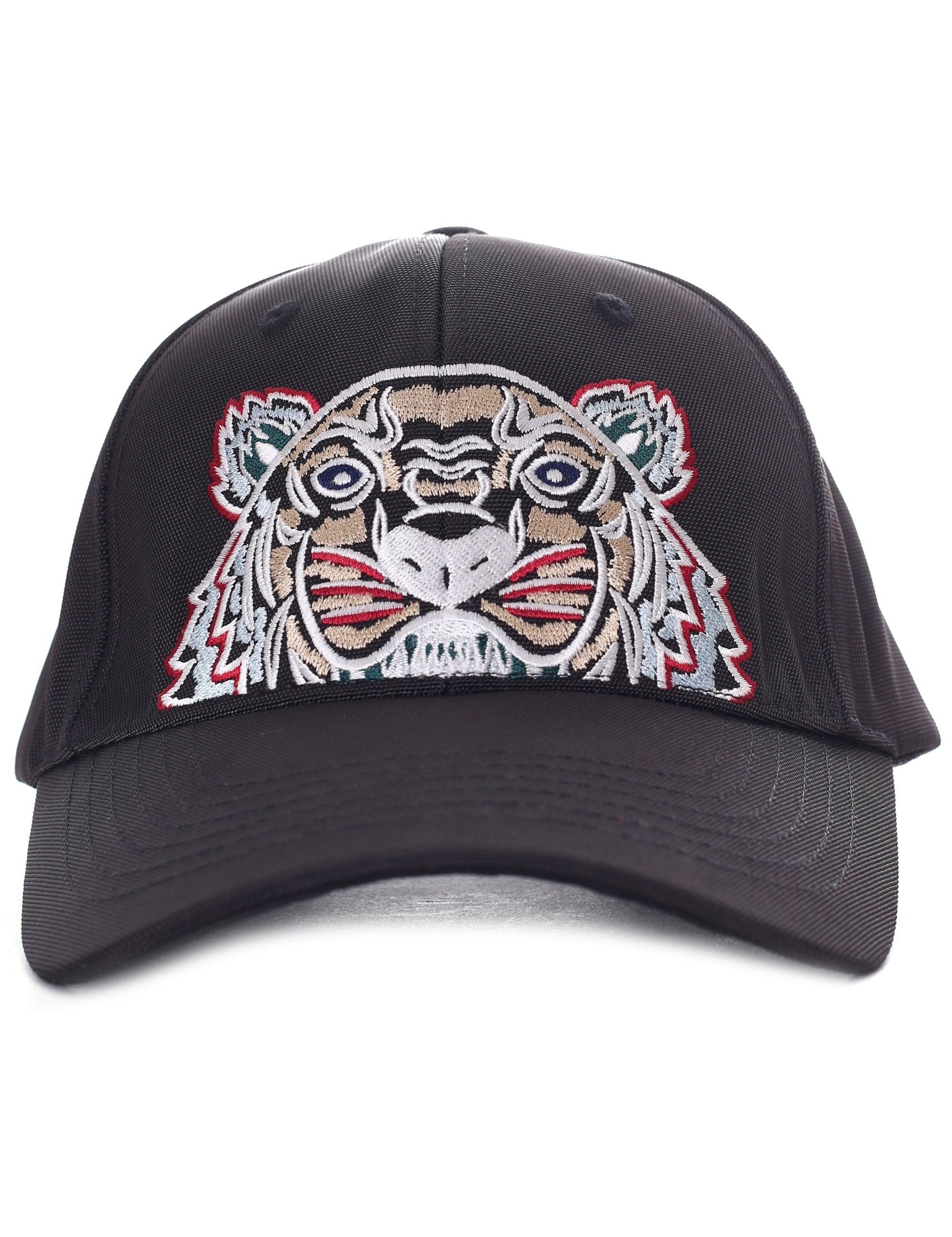 e4d63f4943 KENZO Men's Tiger Canvas Cap Black in Black for Men - Save 42% - Lyst