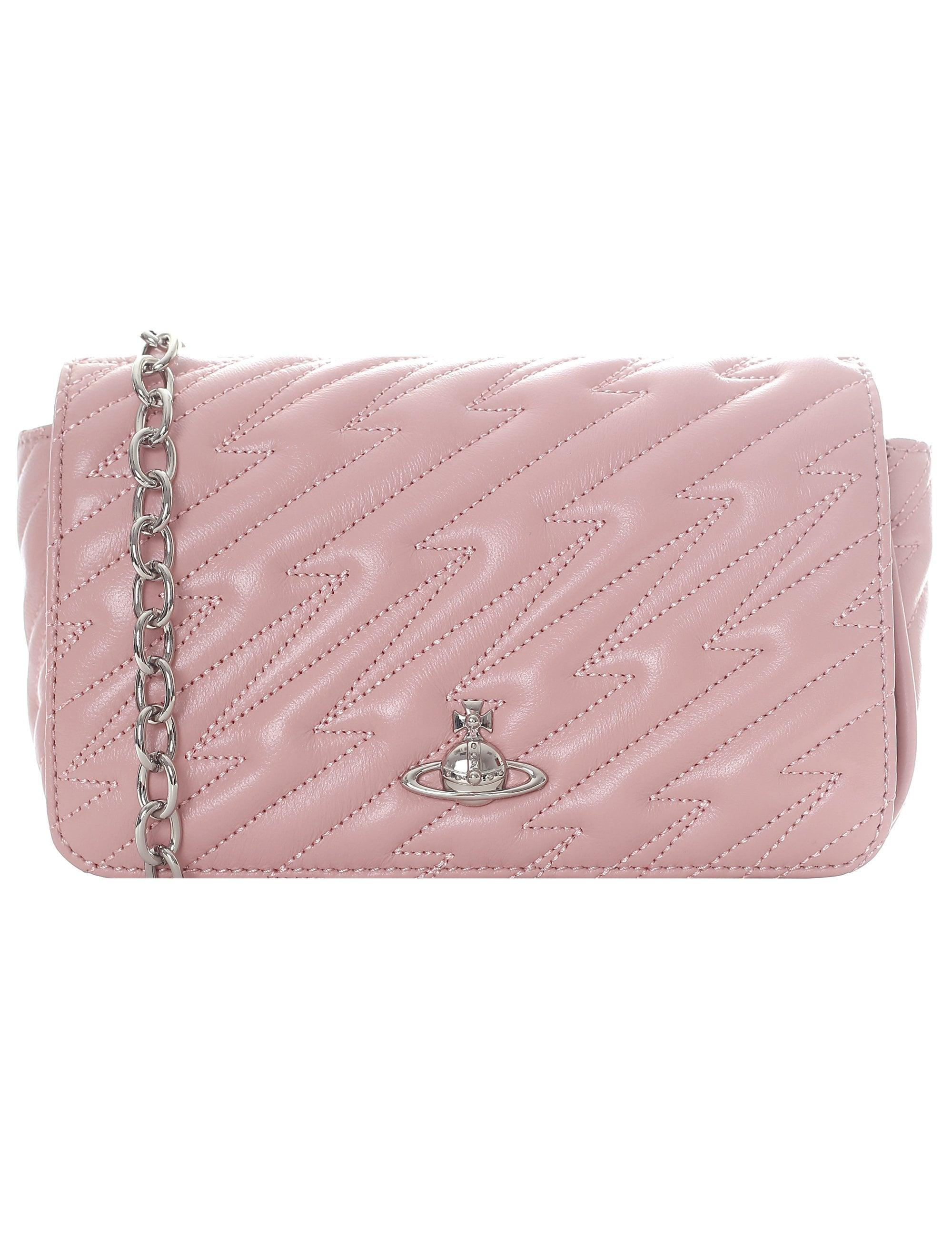 2f70c199f1f Vivienne Westwood Women's Coventry Mini Crossbody in Pink - Lyst