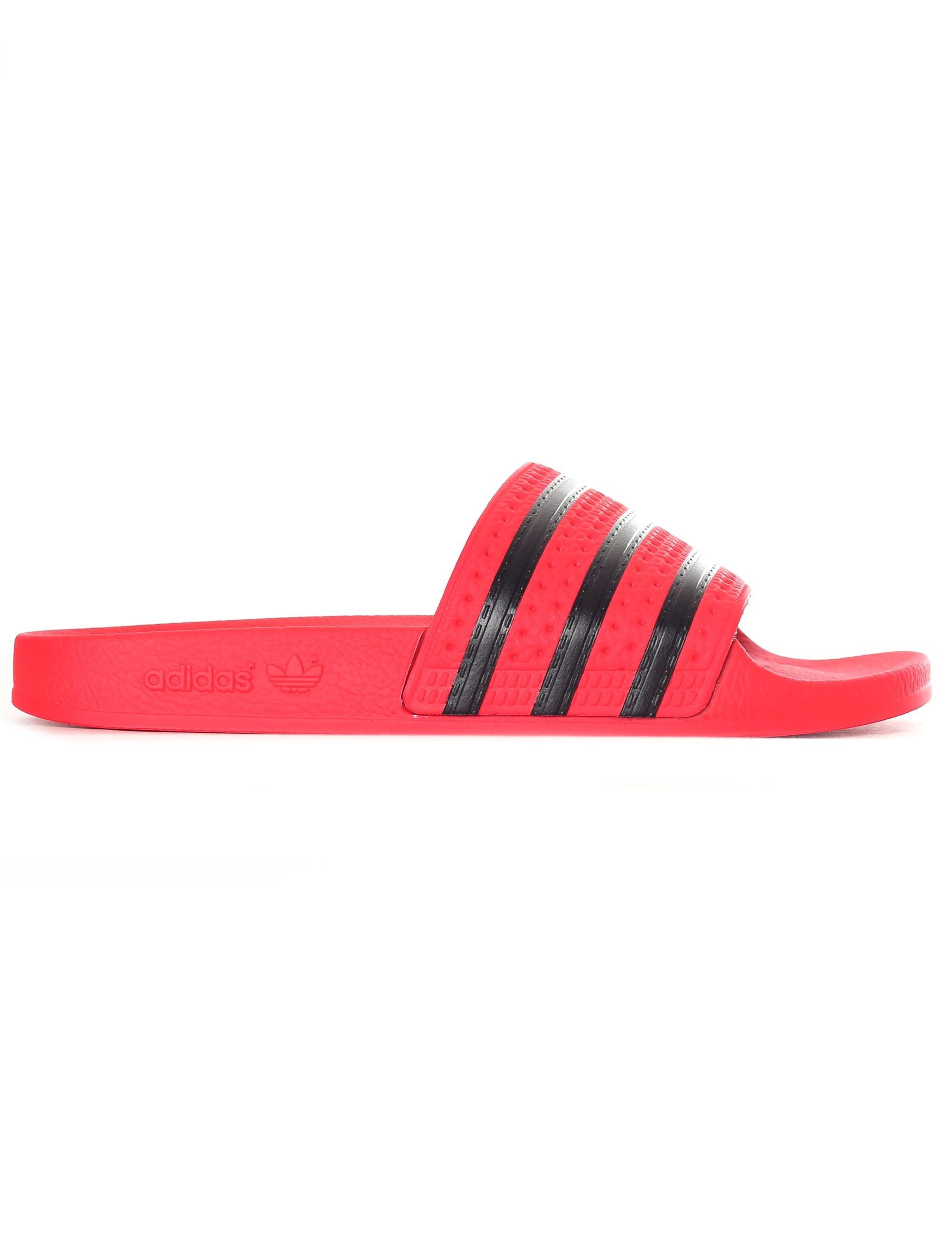 watch 2e78f afbaf Adidas - Pink Adilette Sliders - Lyst. View fullscreen