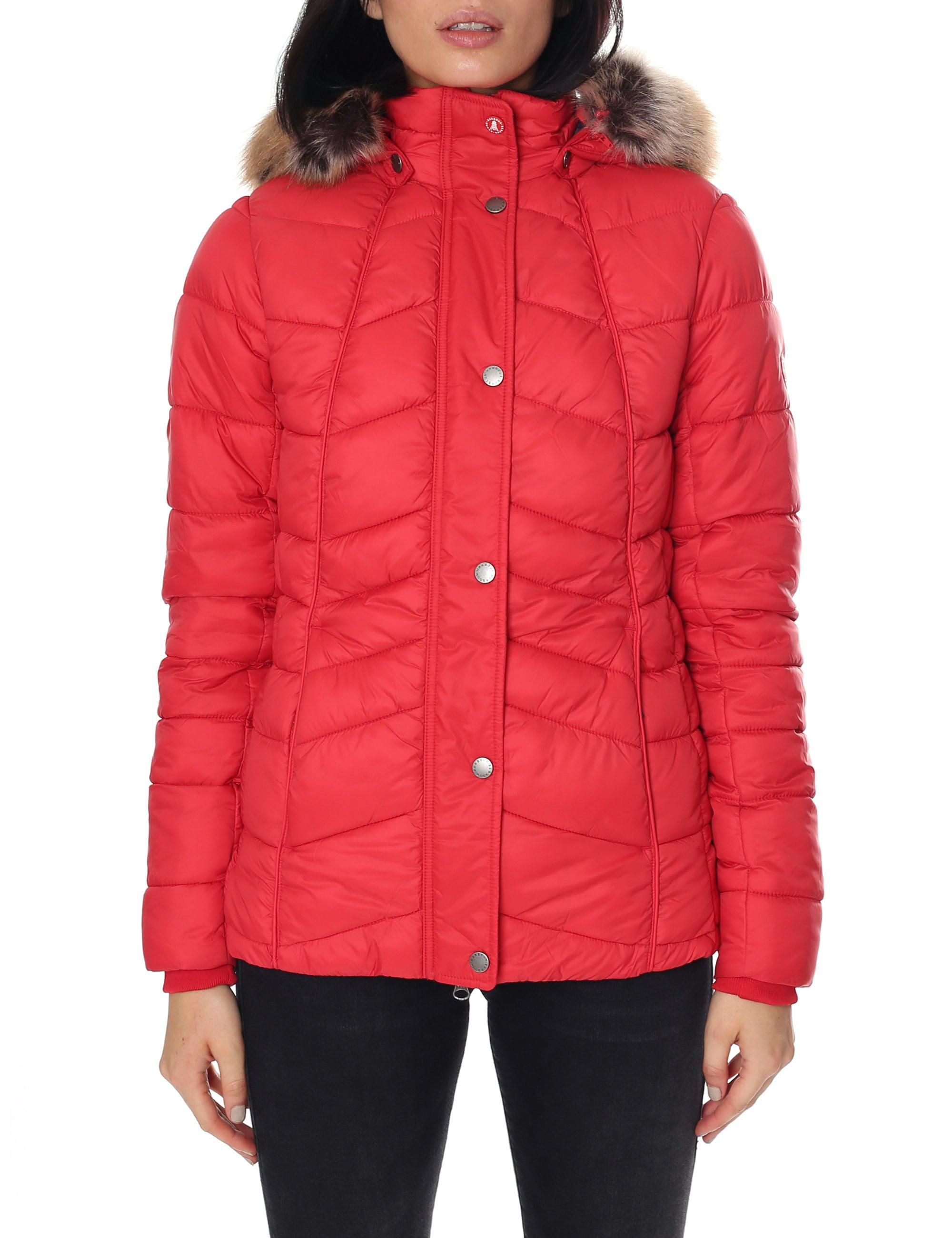 e4dafd8cf0fc Barbour Women s Bernera Quilt Jacket Reef Red in Red - Lyst