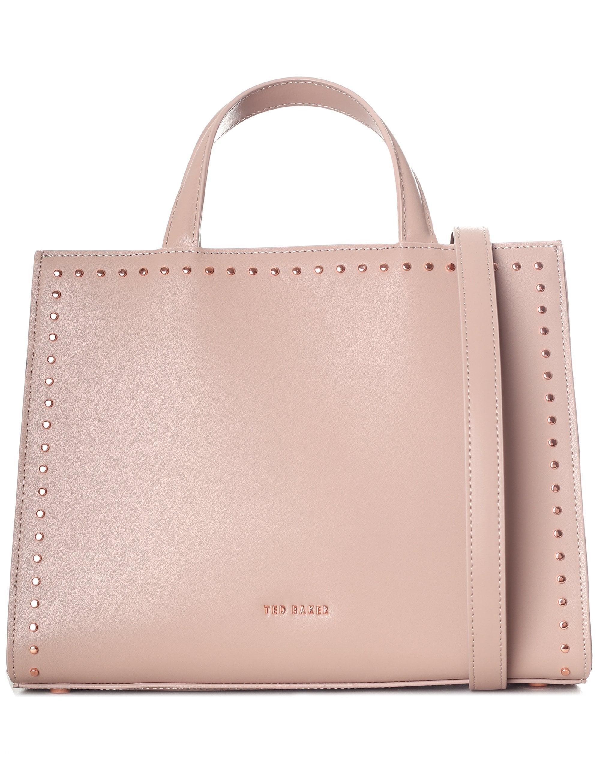 35c5f362f236 Ted Baker - Pink Women s Micro Stud Shoulder Bag - Lyst. View fullscreen