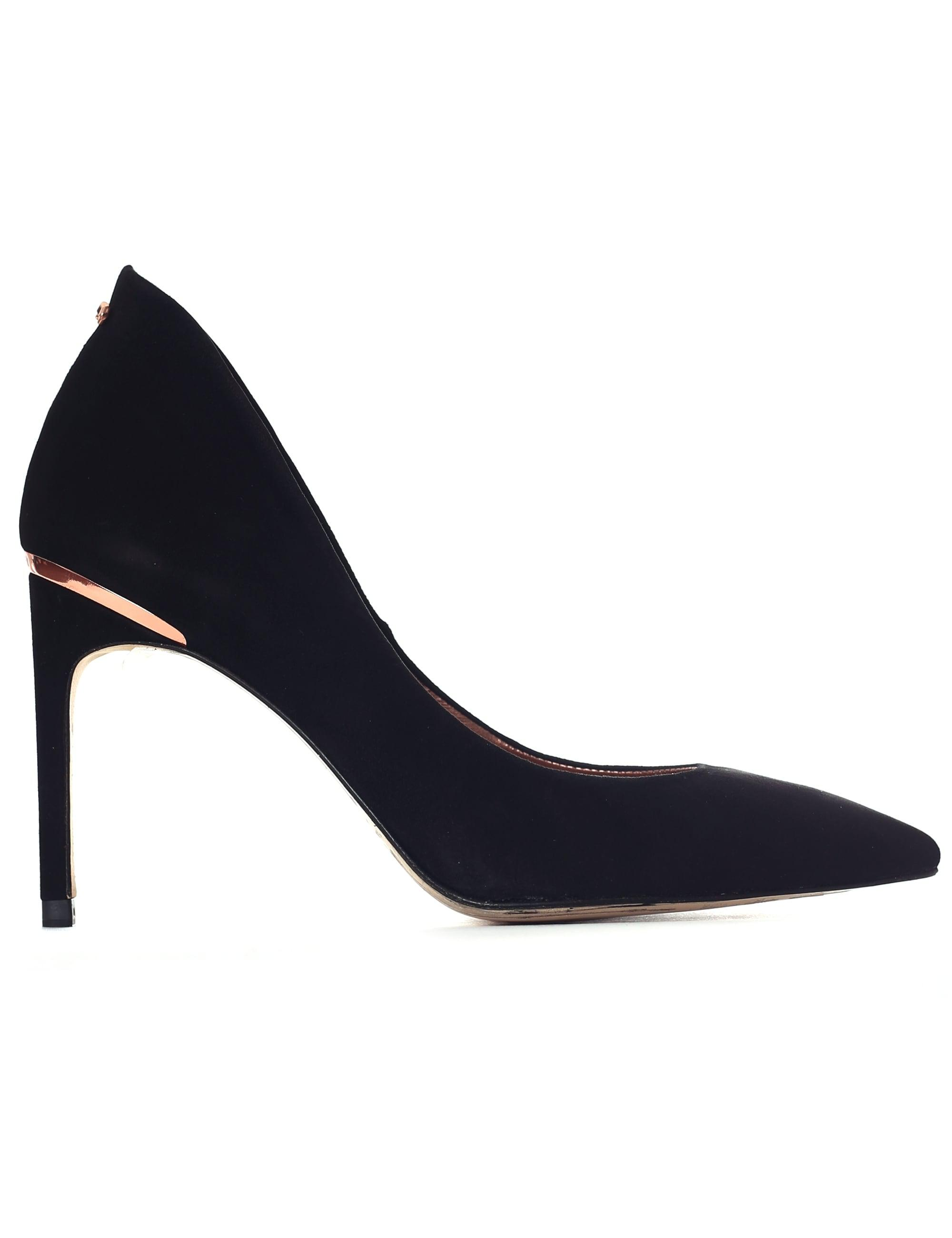 825531b1d657 Ted Baker Savio 2 Curved High Back Suede Courts in Black - Lyst