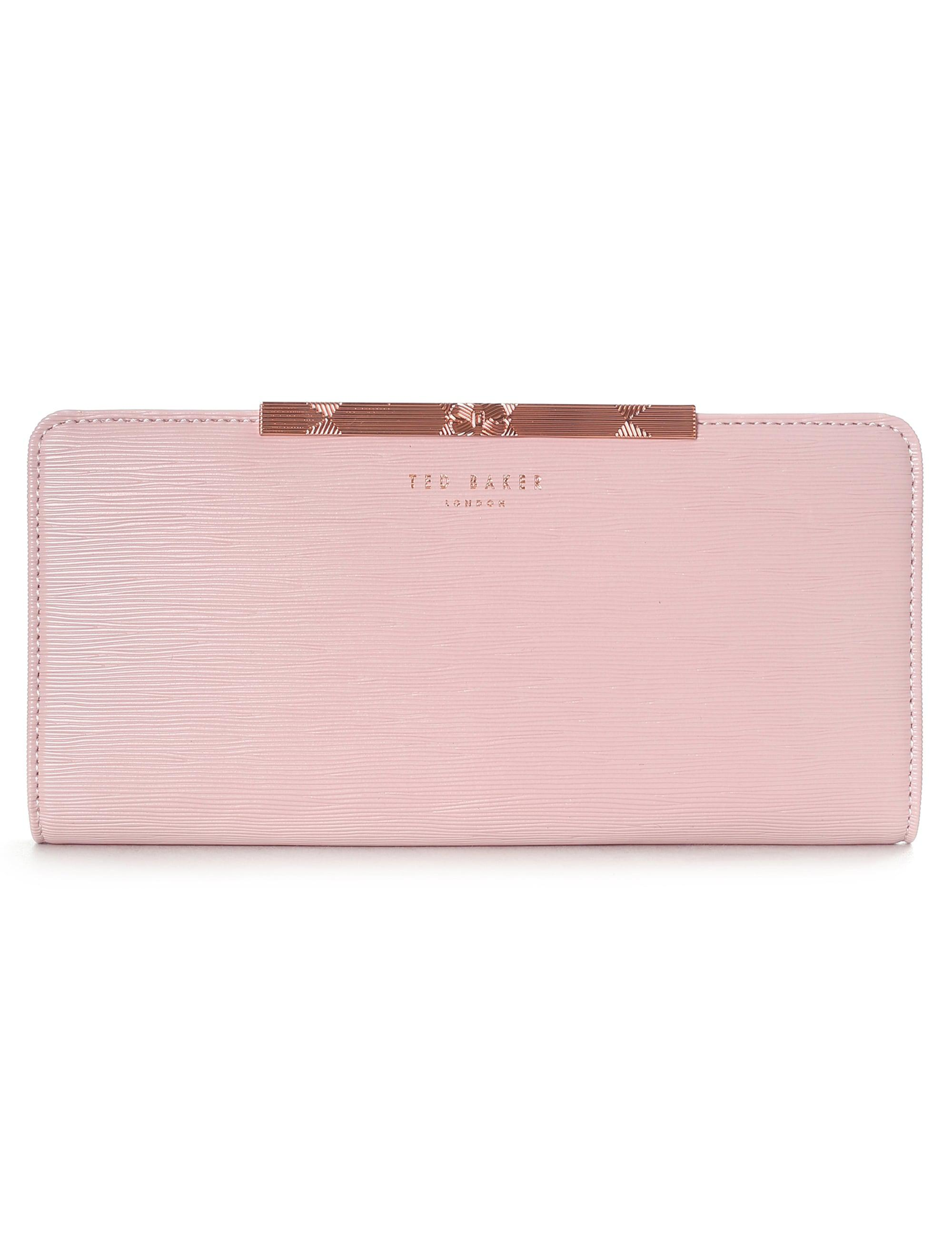883a6fb42c8 Ted Baker Yasmine Mini Leather Matinee Purse in Pink - Lyst
