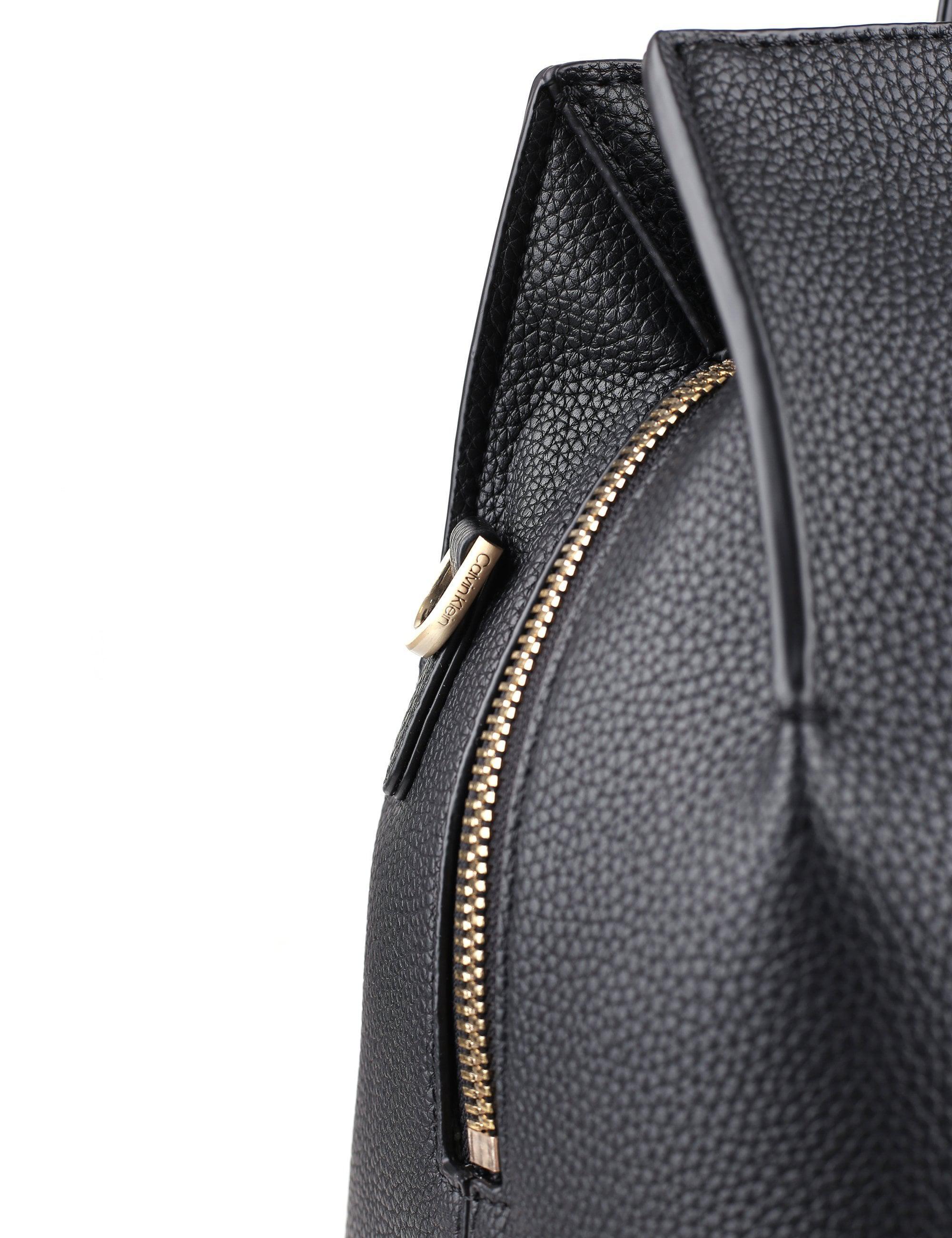 2b996b3329d Calvin Klein Neat Large Tote Bag in Black - Lyst