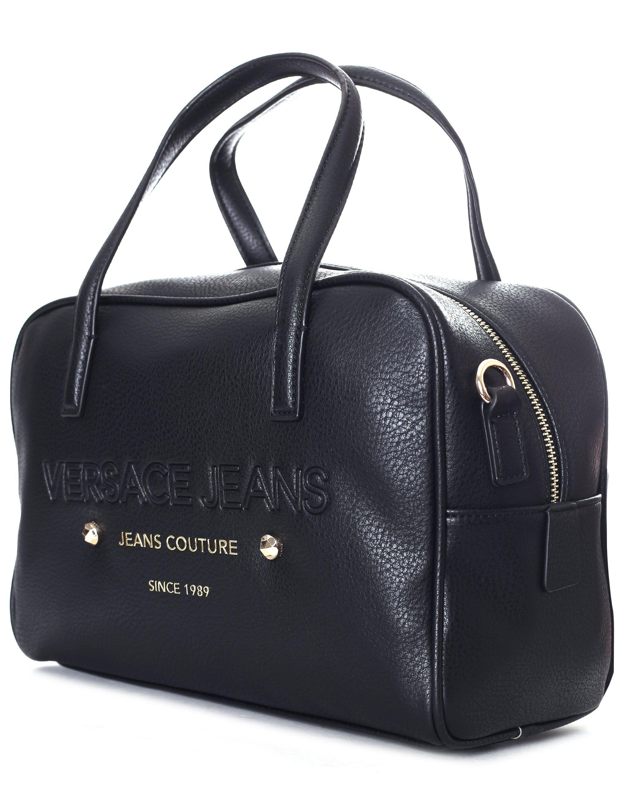 83bf1d6acad49 Versace Jeans Couture Bowling Bag in Black - Lyst
