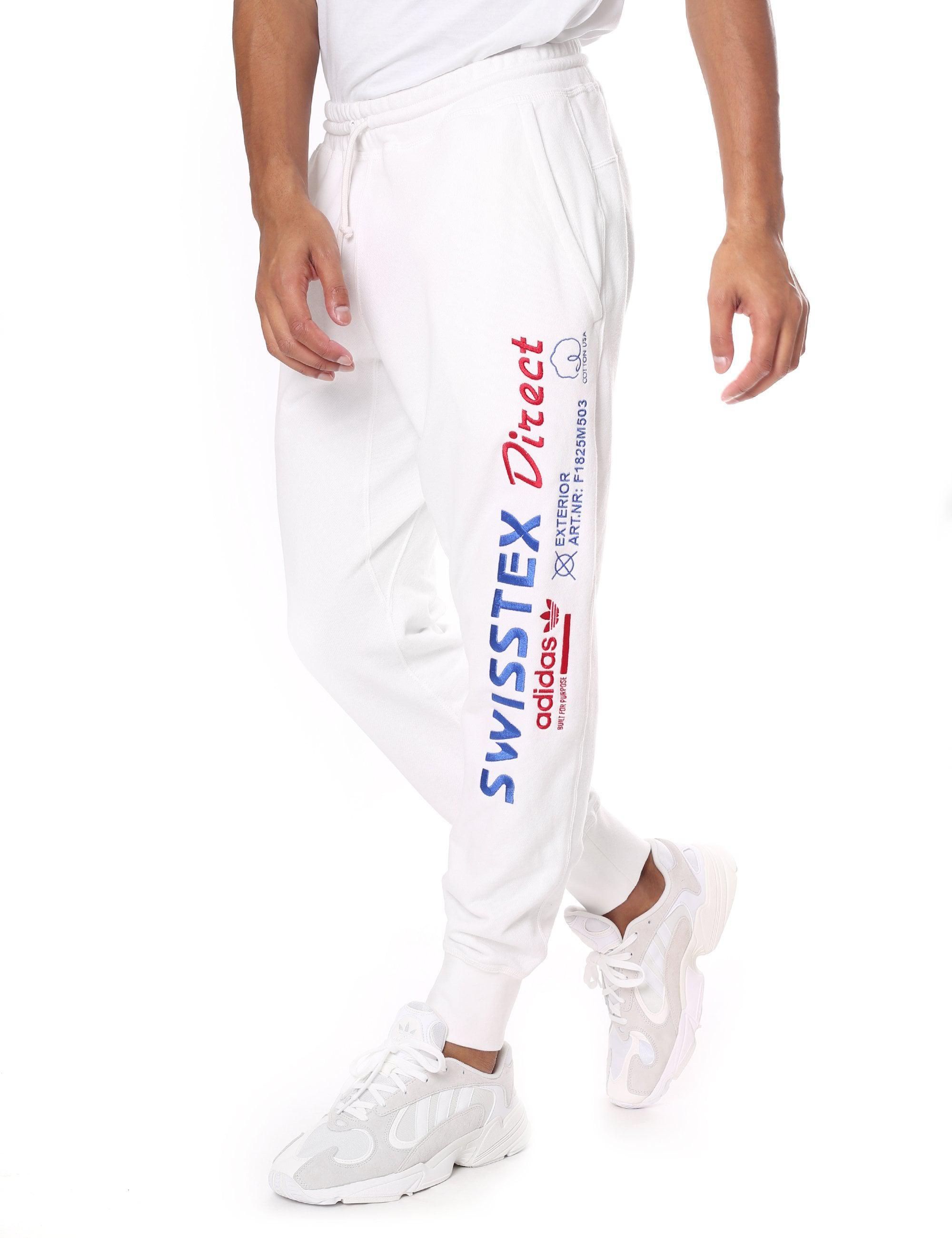 adidas Cotton Men's Kaval Sweat Pant in Cloud White (White