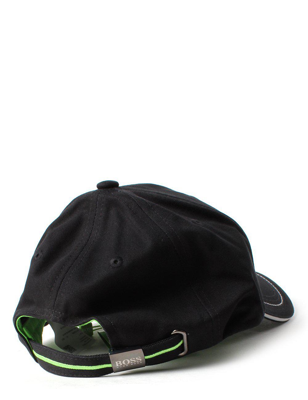 f053c0463fcbd4 BOSS Athleisure Cap 1 Men's Logo Cap Black in Black for Men - Lyst