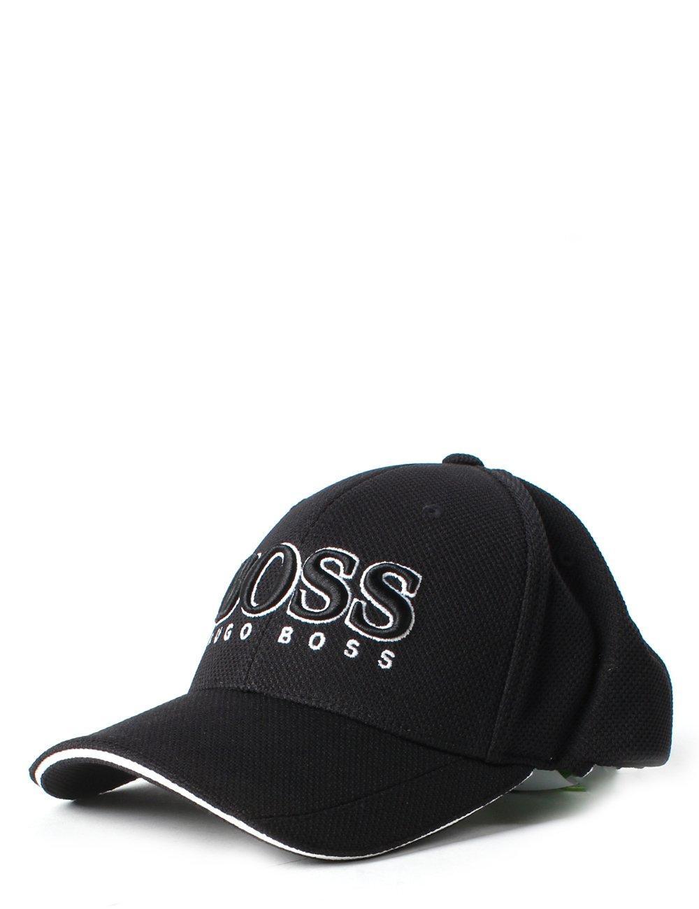 f883c1ef9310f9 BOSS Athleisure Cap Us Men's Logo Cap Black in Black for Men - Lyst