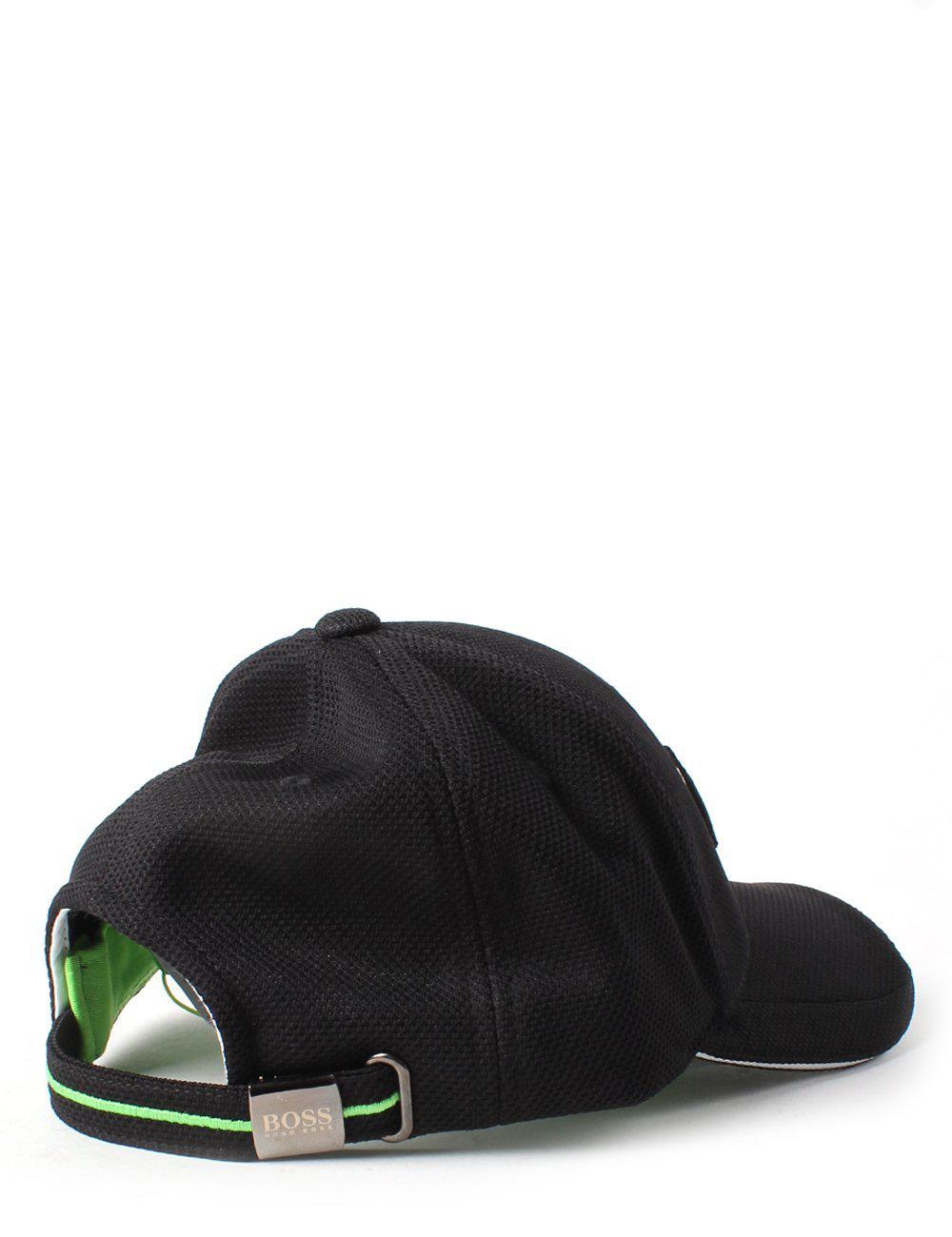 a2b42725 BOSS Athleisure Cap Us Men's Logo Cap Black in Black for Men - Lyst